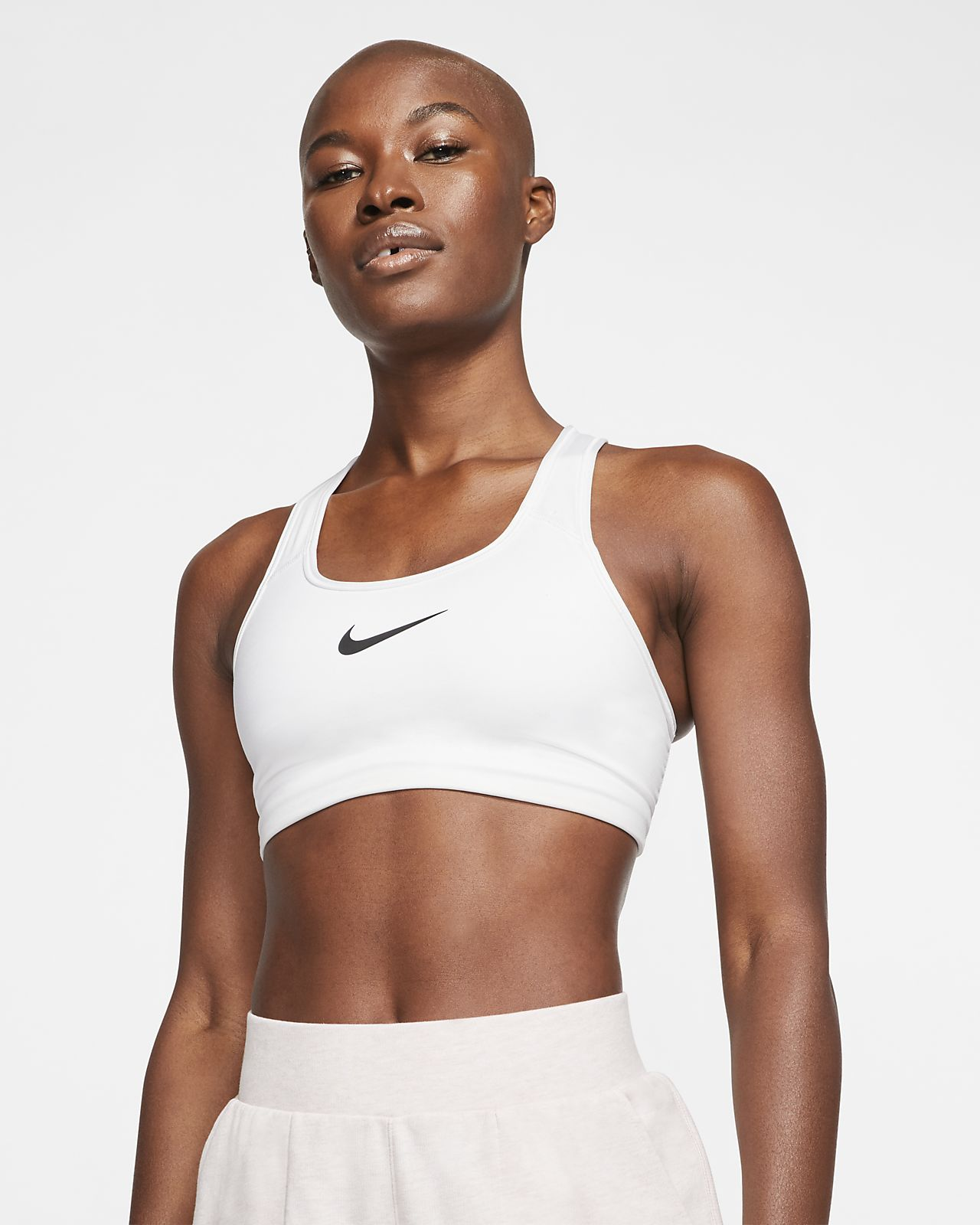 7fe2fb24a0 Nike Women s Swoosh Medium Support Sports Bra. Nike.com