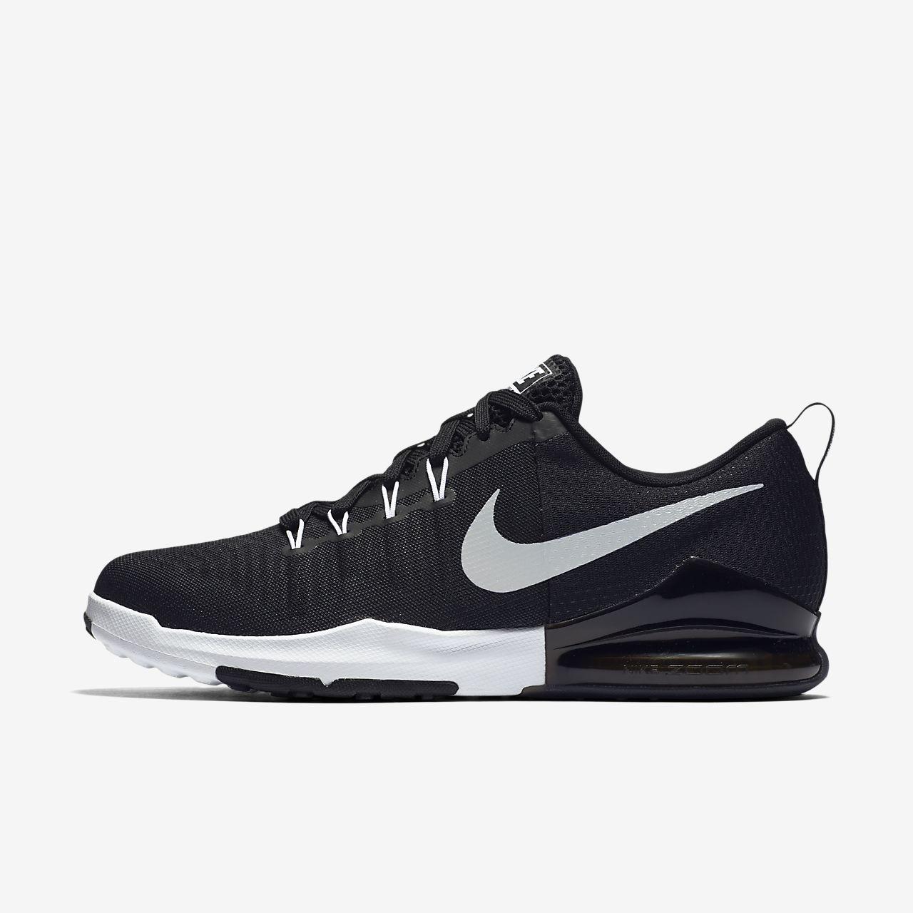 Nike Zoom Train Action Men's Training Shoe Black/Anthracite/White/Metallic Silver