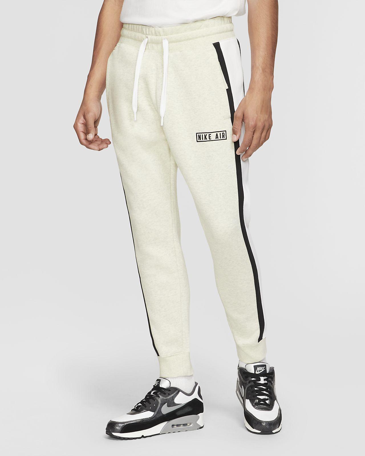 Calças de lã cardada Nike Air para homem