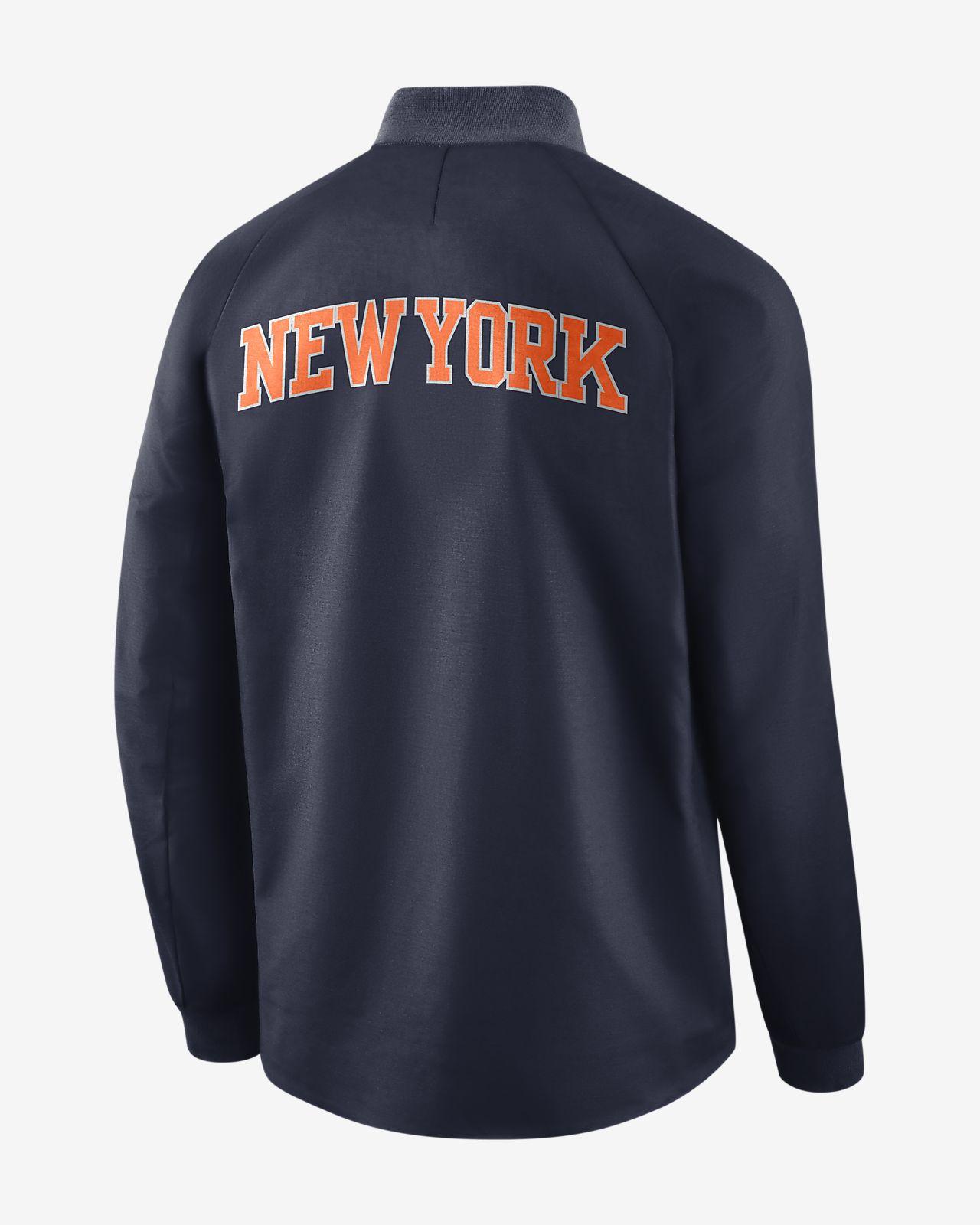 ... New York Knicks City Edition Nike Modern Men's NBA Varsity Jacket