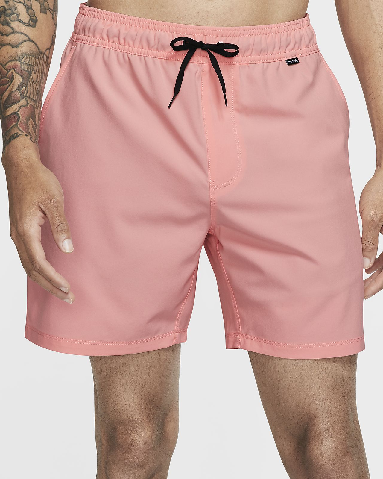 "Hurley One And Only Men's 17"" Volley Board Shorts"