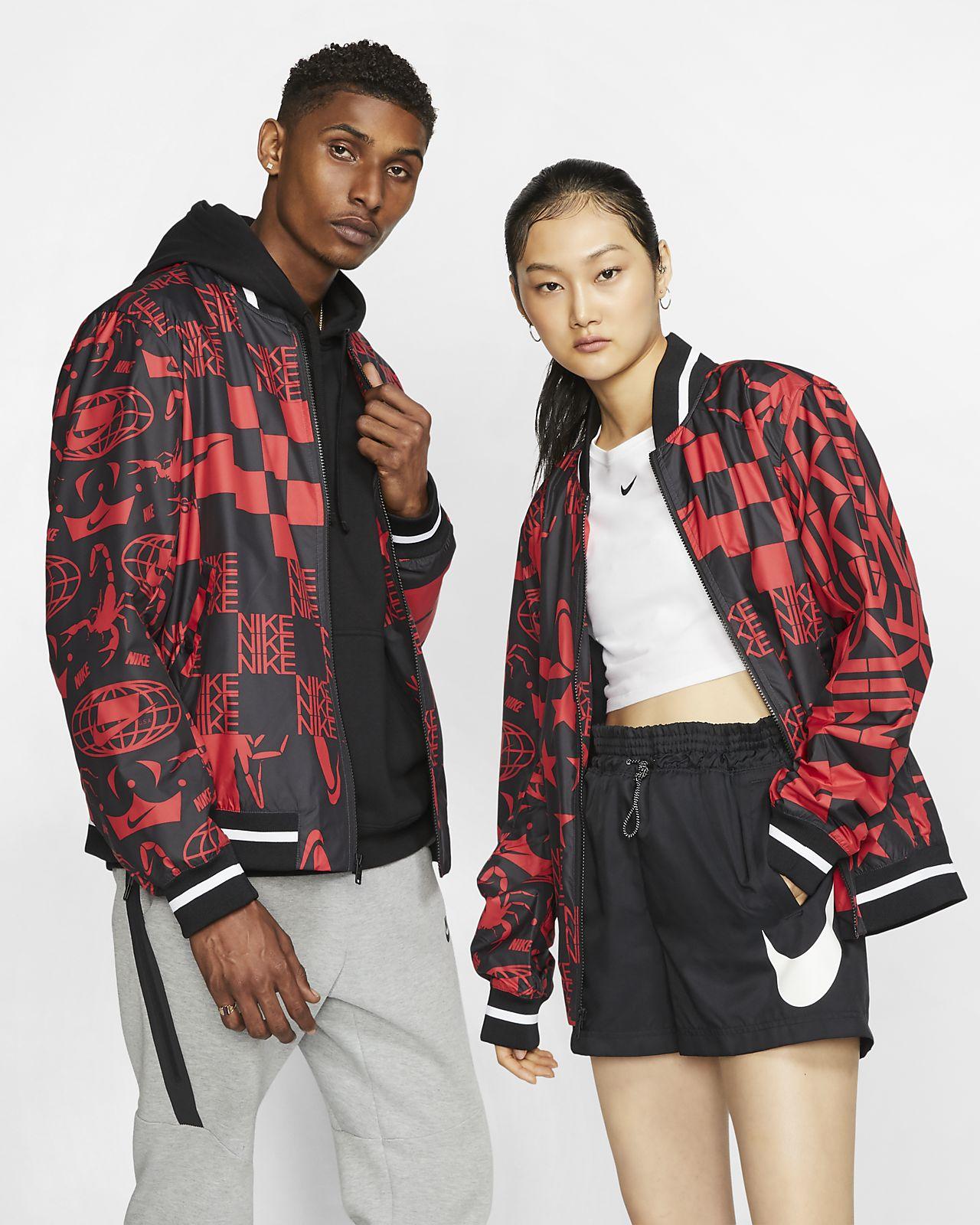Εμπριμέ τζάκετ Nike Sportswear