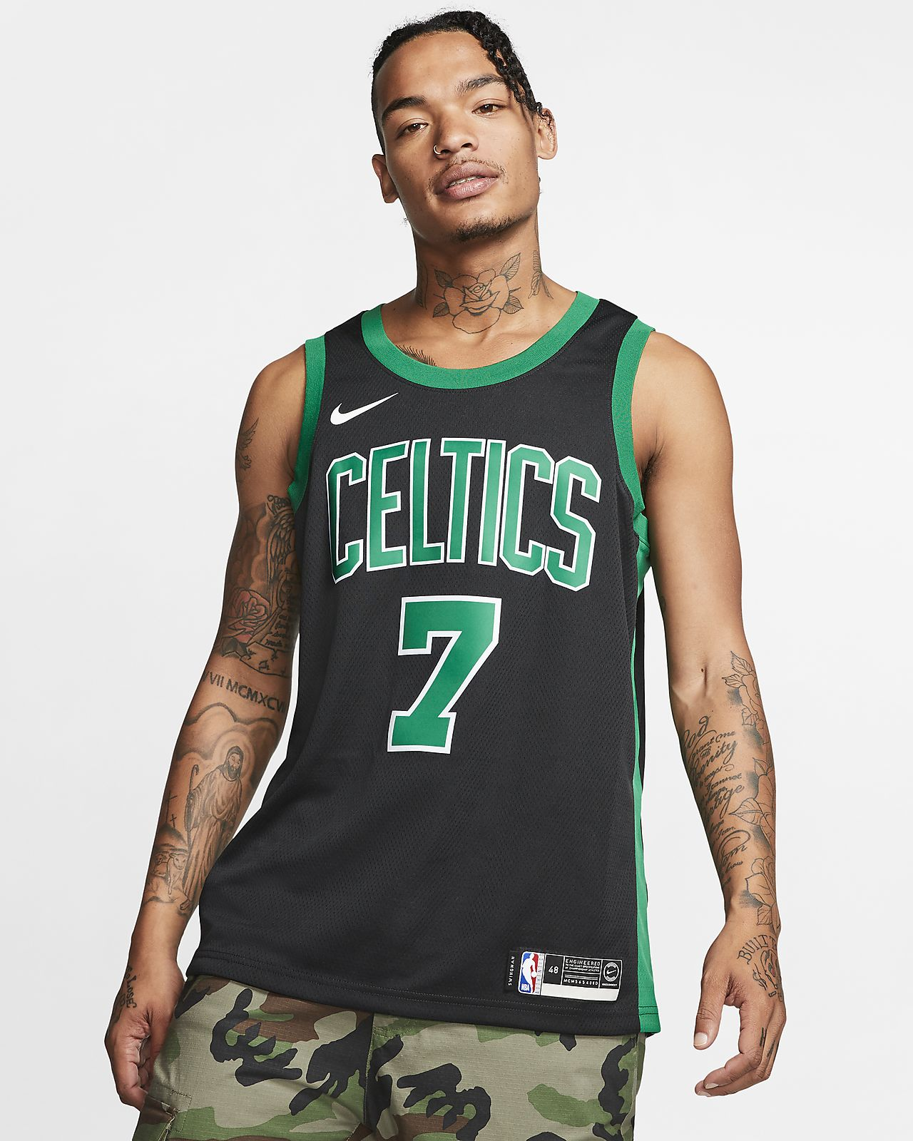new concept bc499 e0a55 Jaylen Brown Statement Edition Swingman (Boston Celtics) Men's Nike NBA  Connected Jersey