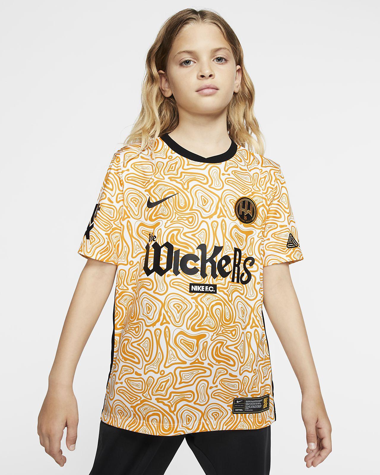 Hackney Wick FC Away futballmez nagyobb gyerekeknek