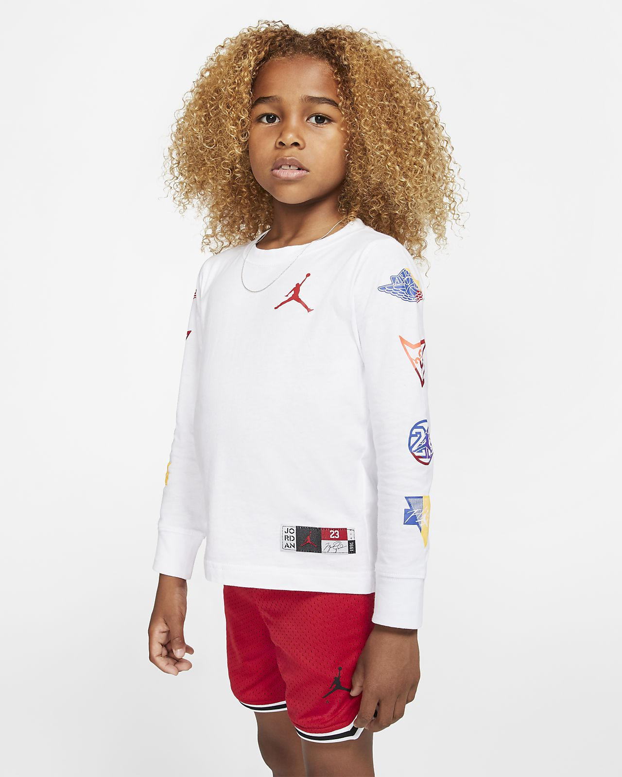 T-shirt a manica lunga Jordan Jumpman - Bambini