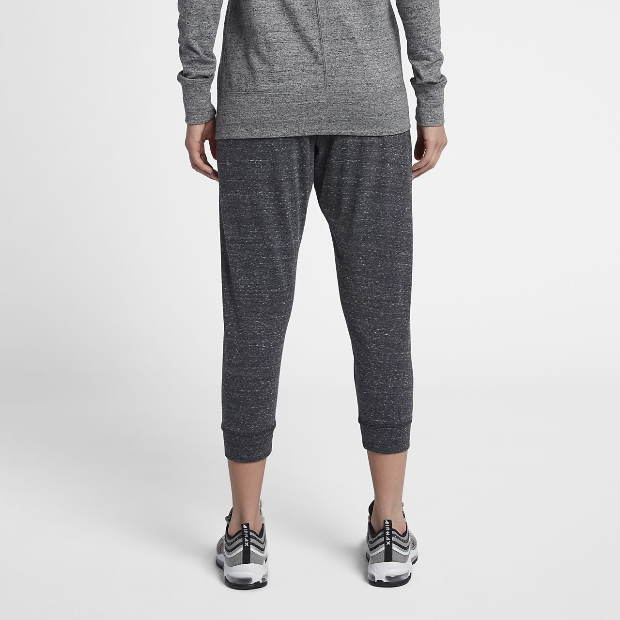 Nike Sportswear Gym Vintage Women's Pants Black Heather/Sail