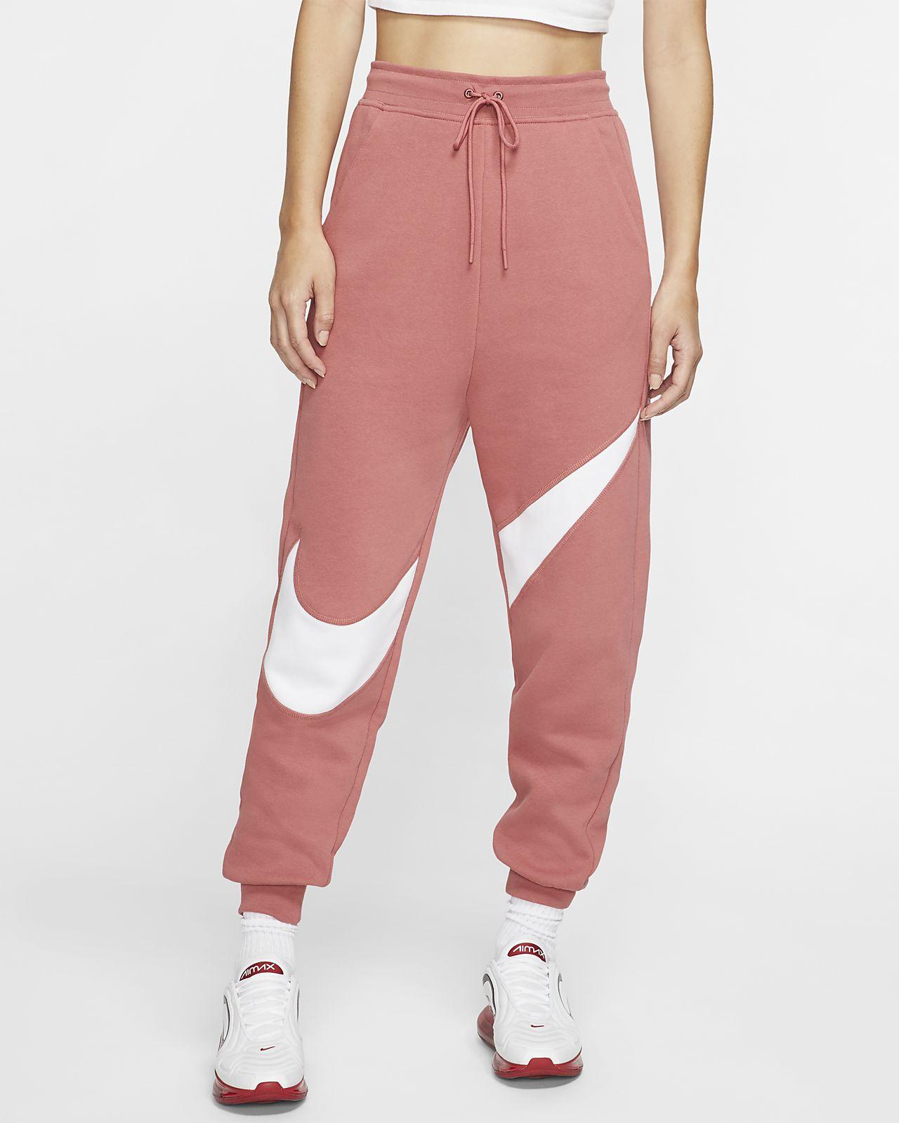 Nike Sportswear Swoosh Pantalons de teixit Fleece - Dona