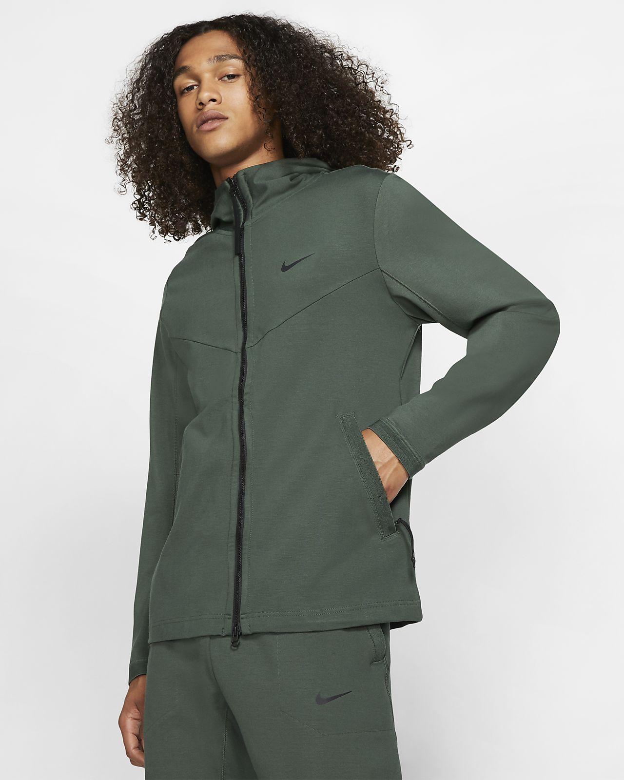Tech und Kapuze Nike Herrenjacke mit durchgehendem Sportswear Pack Reißverschluss sdhCQtrx