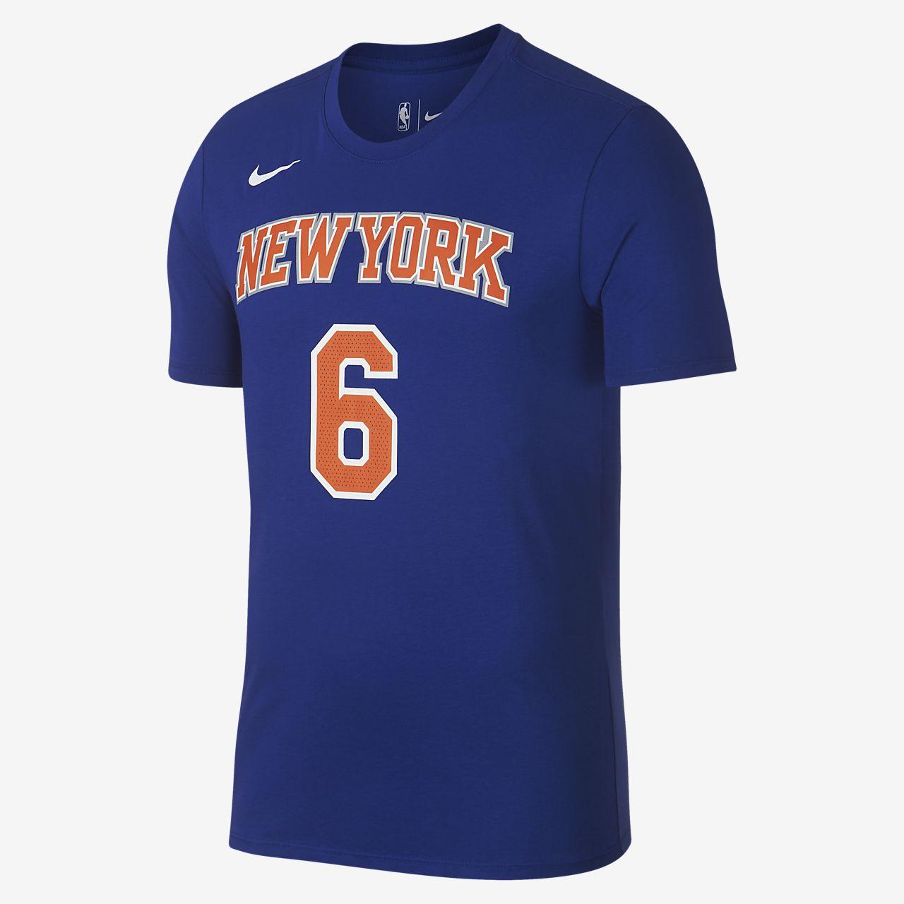 Tee-shirt NBA Kristaps Porzingis New York Knicks Nike Dri-FIT pour Homme