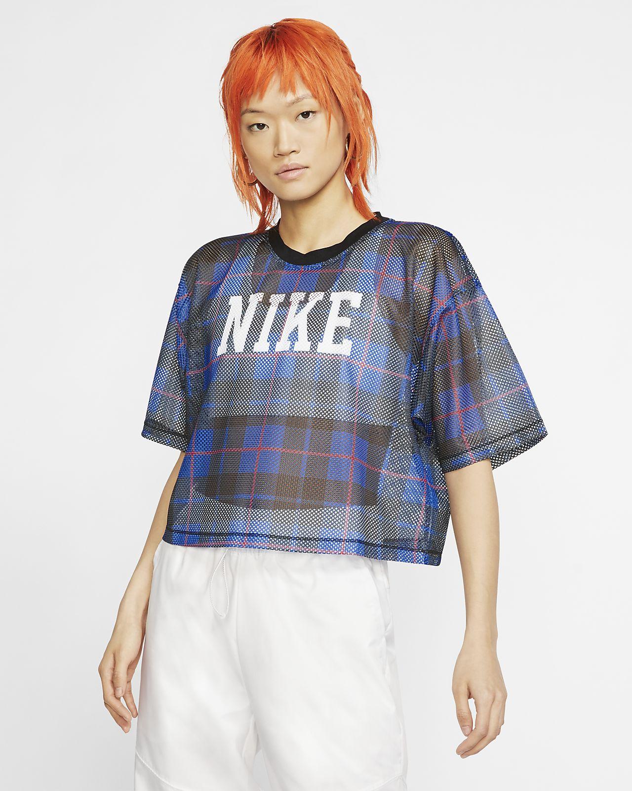 Nike Sportswear NSW 女款短袖網布上衣