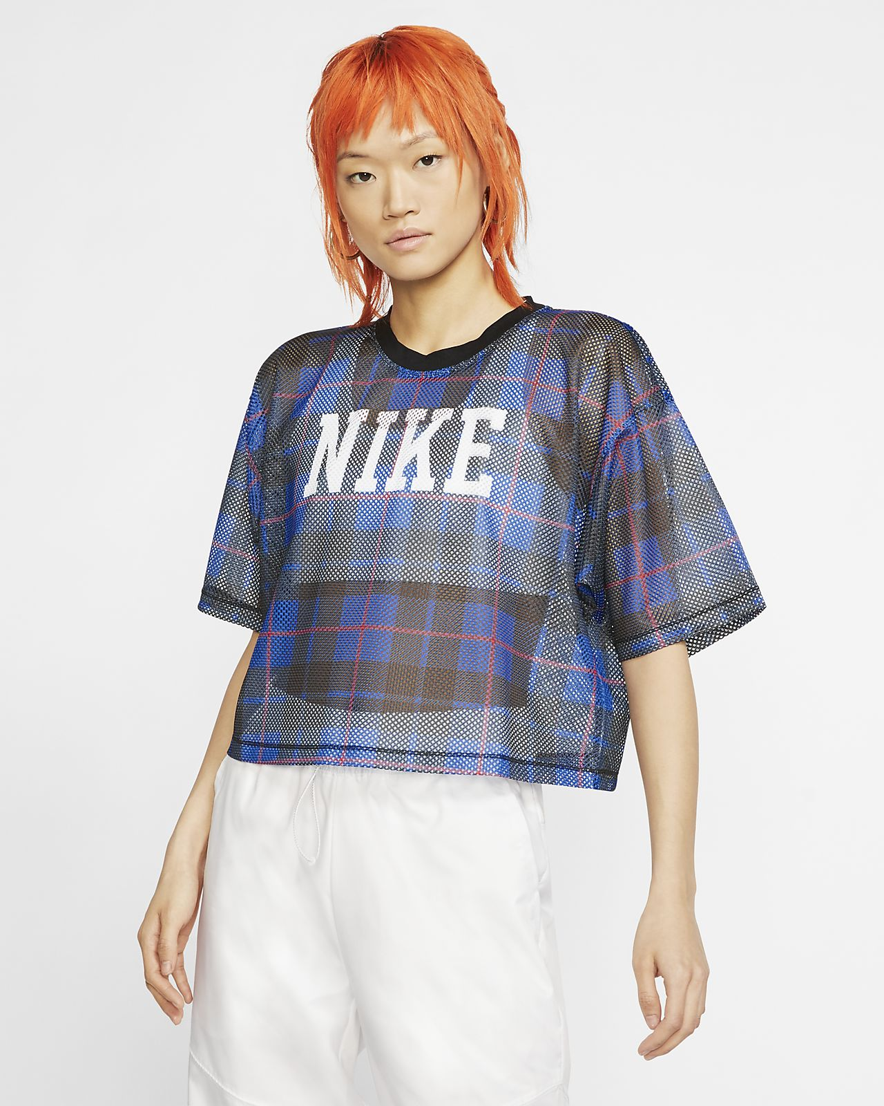 Nike Sportswear NSW Women's Short-Sleeve Mesh Top