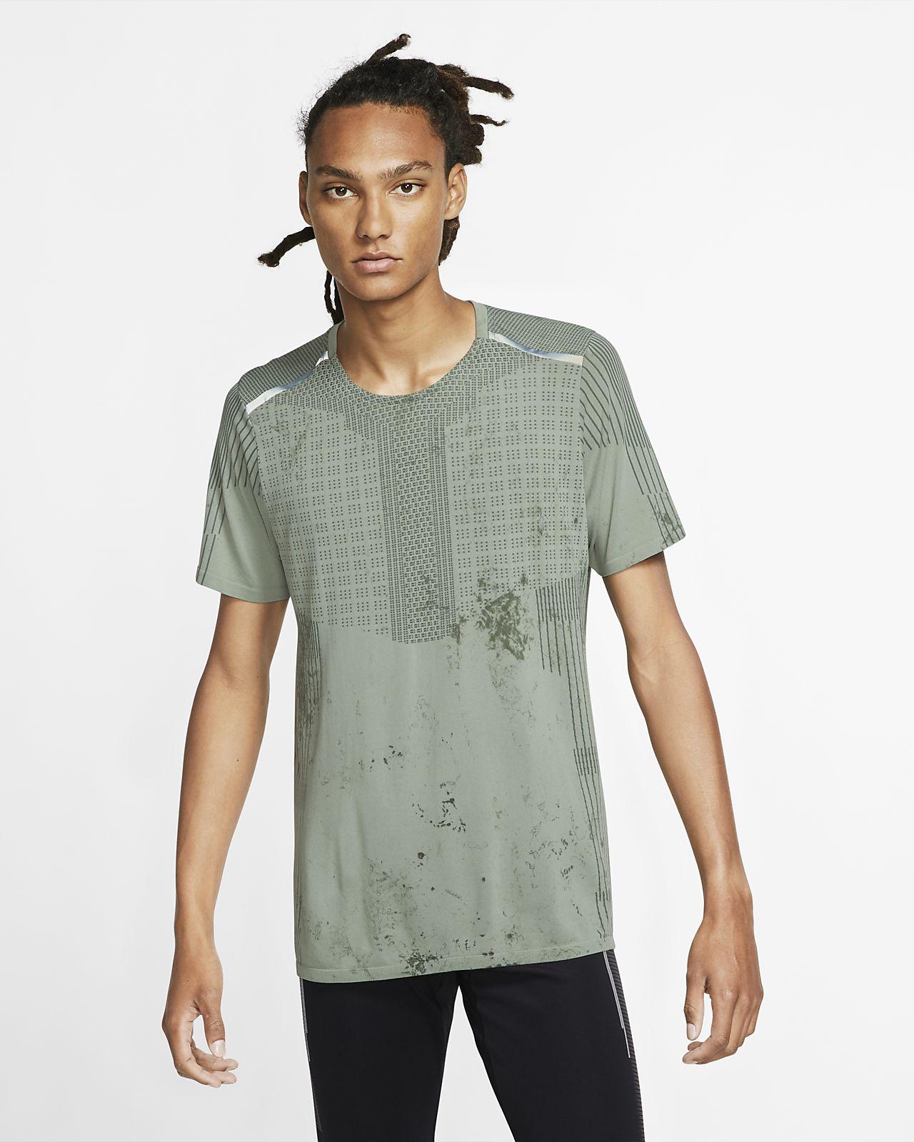 Męska koszulka z krótkim rękawem do biegania Nike Tech Pack