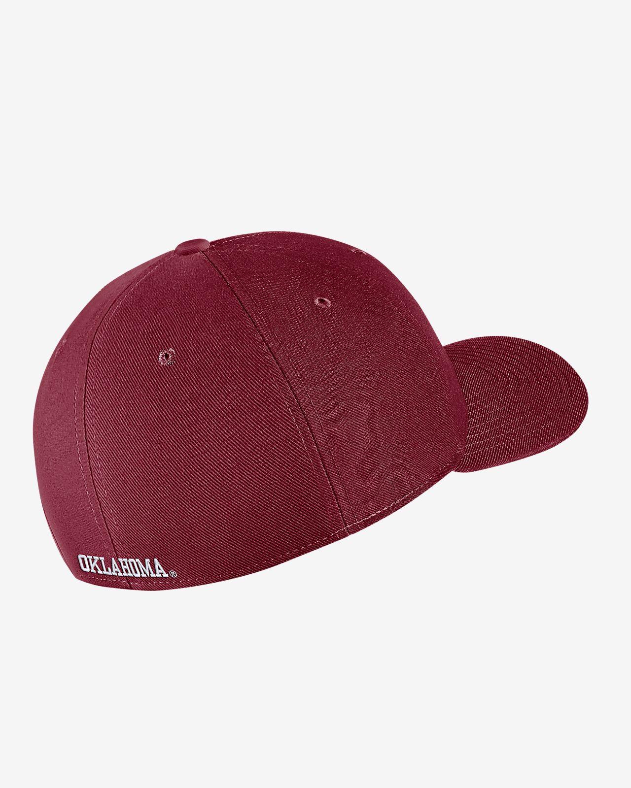 Nike College Dri-FIT Classic99 Swoosh Flex (Oklahoma) Fitted Hat ... bcca7094a962