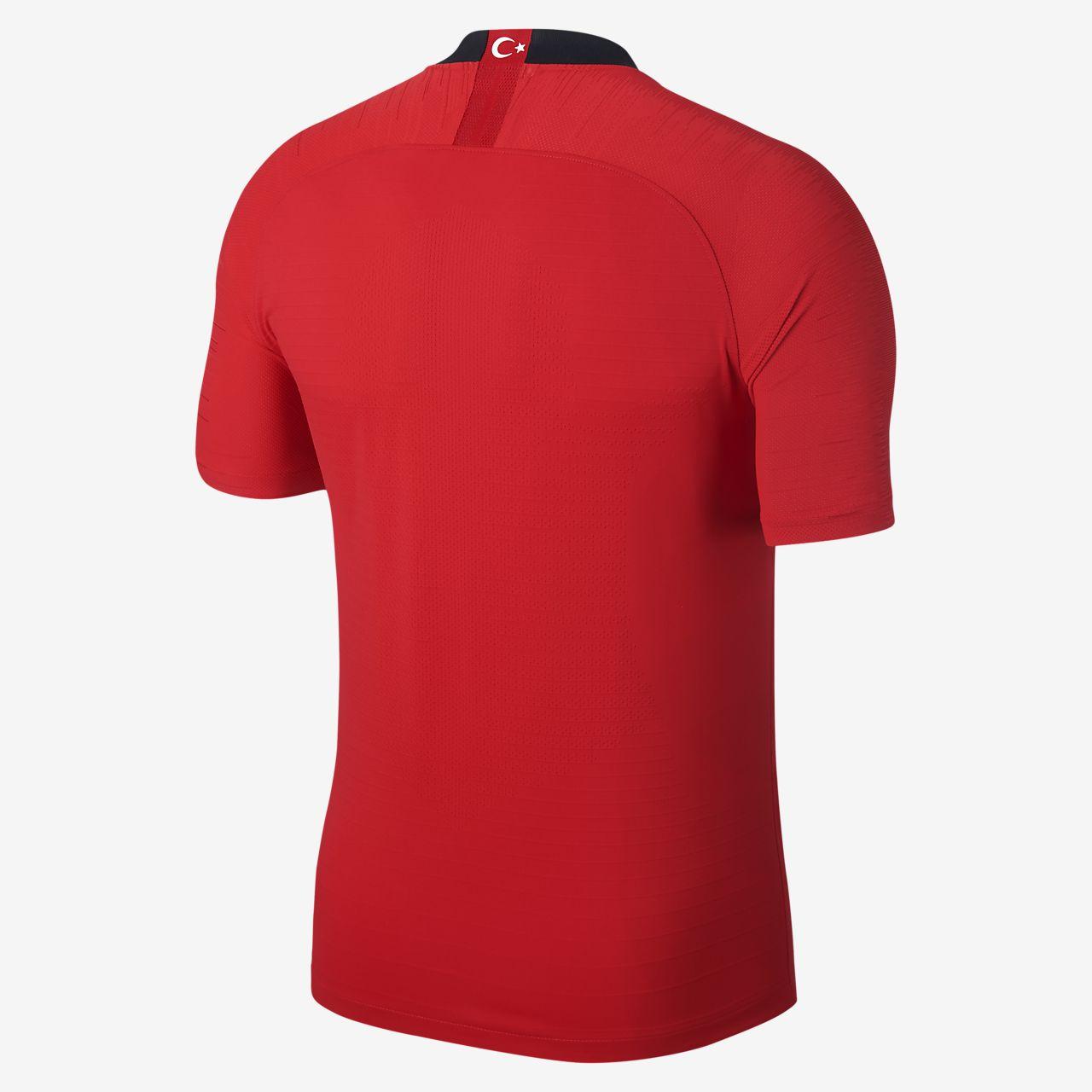 Camiseta de fútbol para hombre 2018 Turkey Vapor Match Home Away ... 5c1bc6ccb59ec