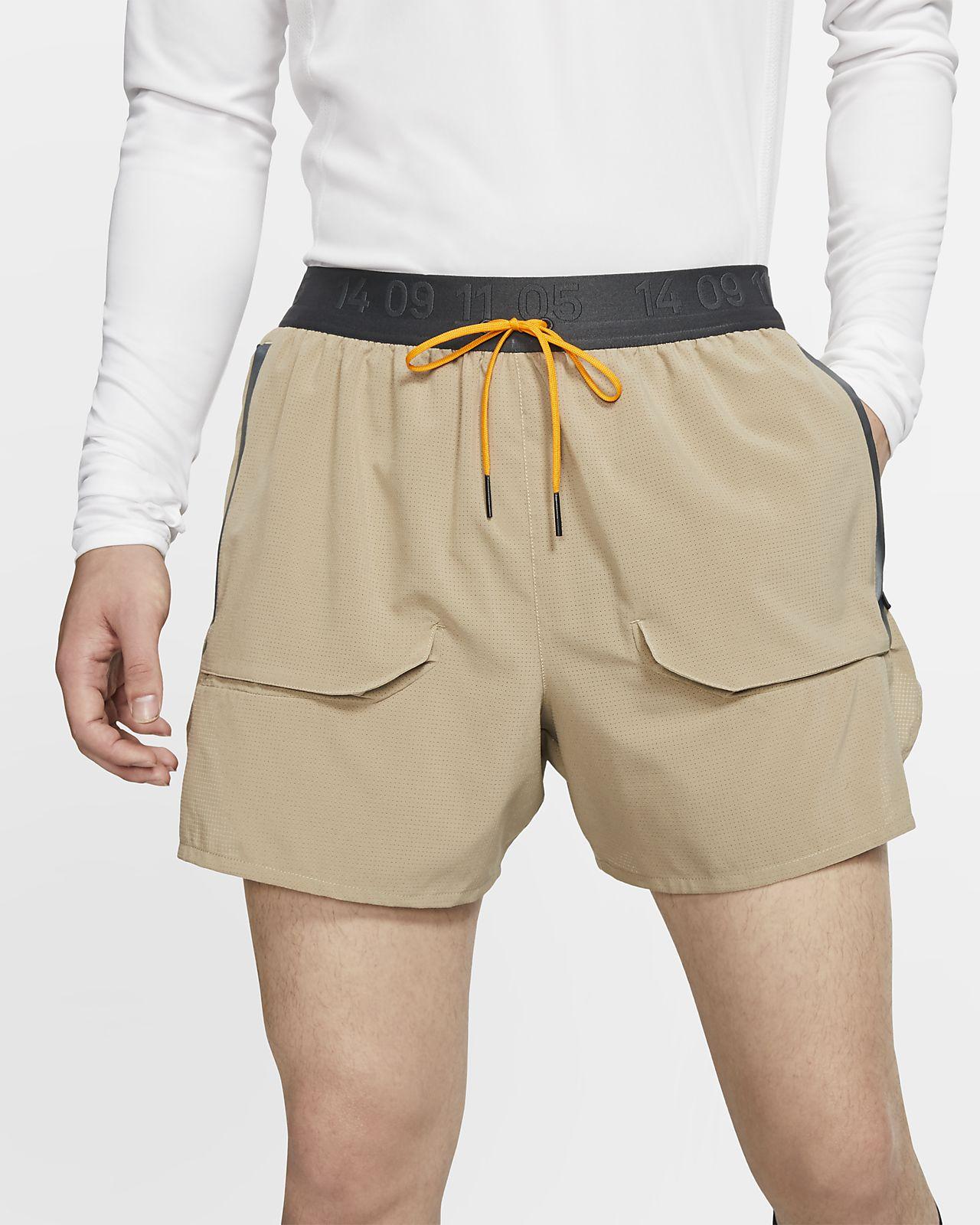 Short de running doublé Nike pour Homme