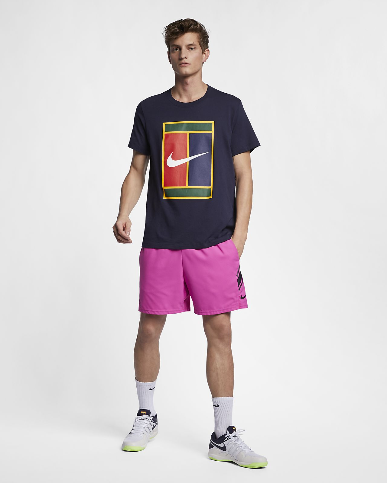 0cf52d3cc0008 NikeCourt Men s Logo Tennis T-Shirt. Nike.com NZ