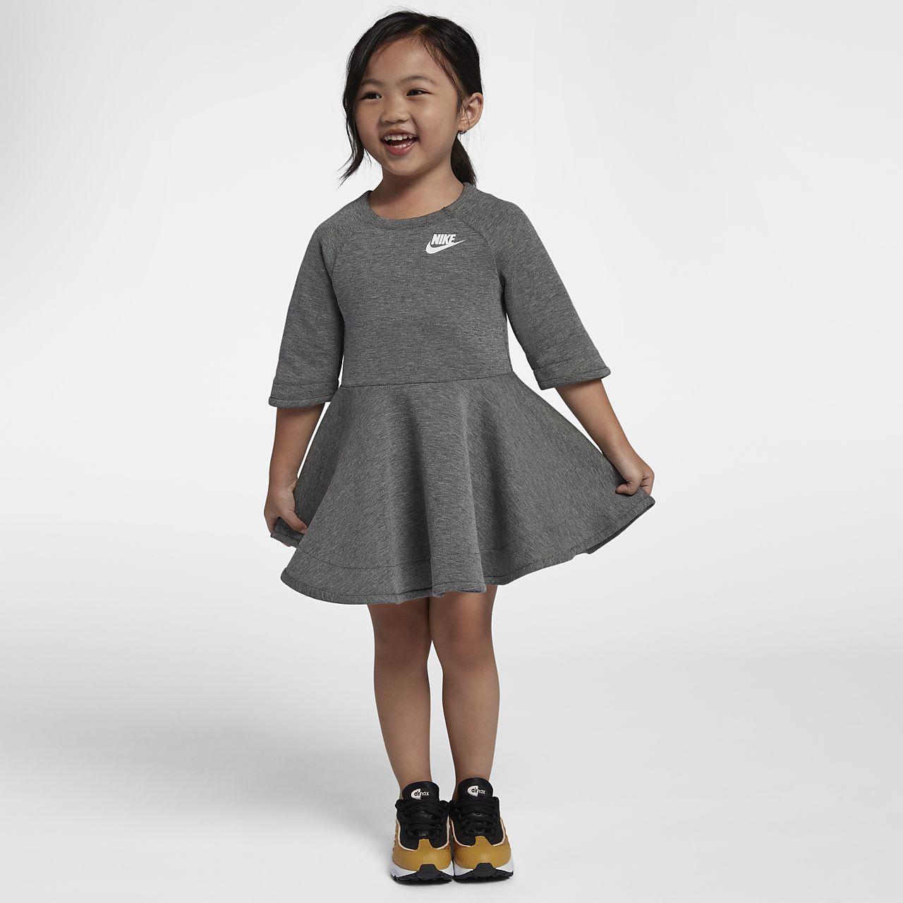 Nike Tech Fleece-kjole til småbørn