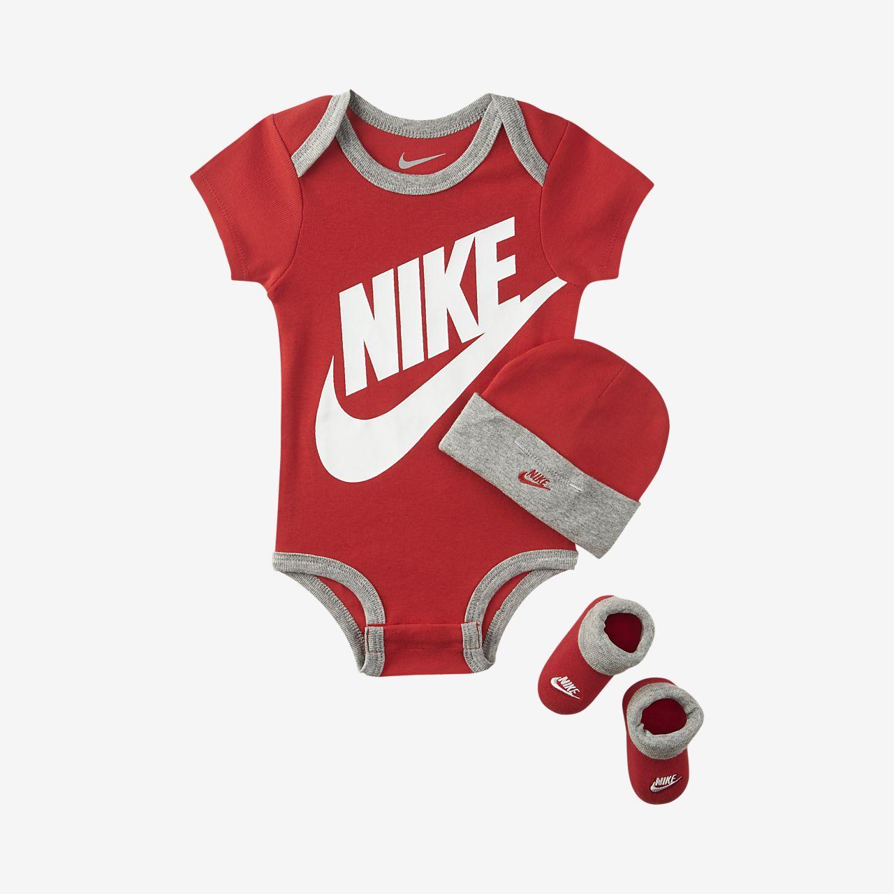 60326b371390e Ensemble trois pièces Nike Sportswear pour Bébé. Nike.com BE