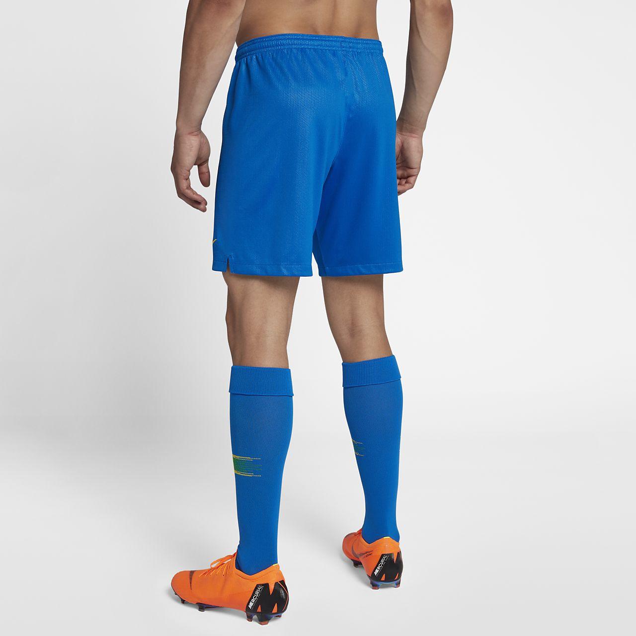 2018 Brazil CBF Stadium Home Men's Football Shorts