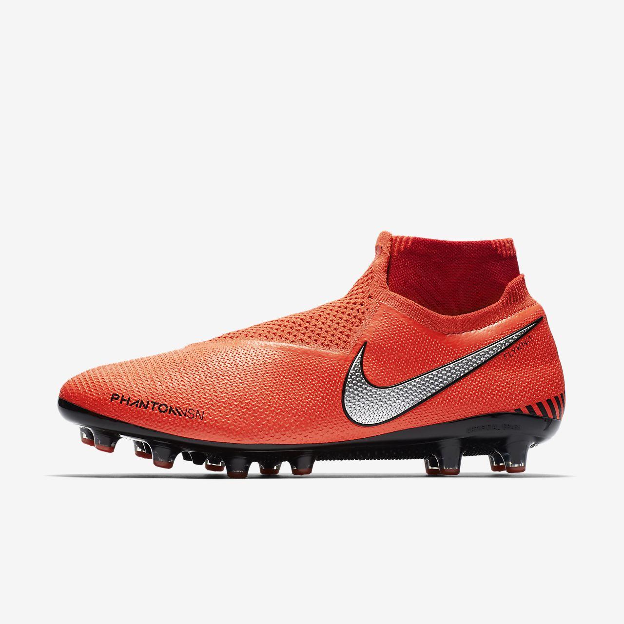 Chuteiras de futebol para relva artificial Nike Phantom Vision Elite  Dynamic Fit 88bc15934cc27
