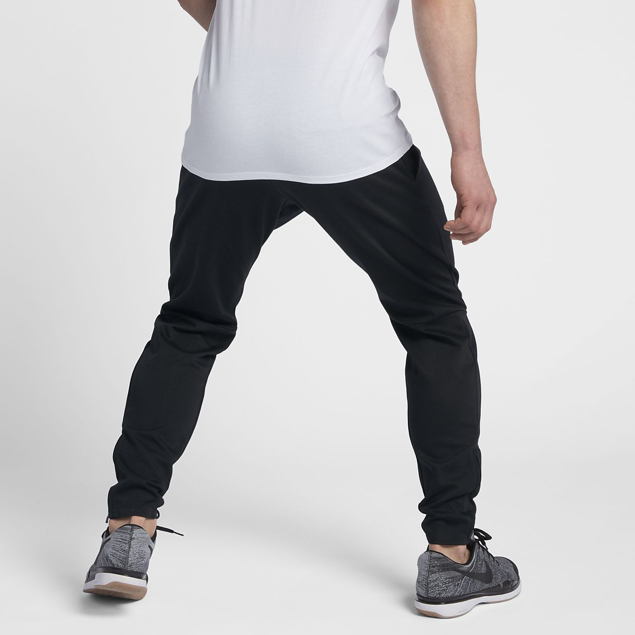 NikeCourt Men's Tennis Pants Black