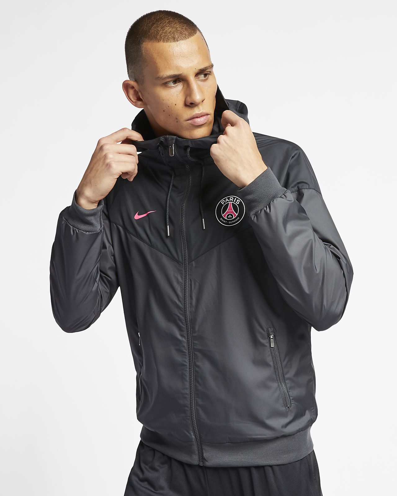 d9b753755dd366 Paris Saint-Germain Windrunner Men s Jacket. Nike.com CZ