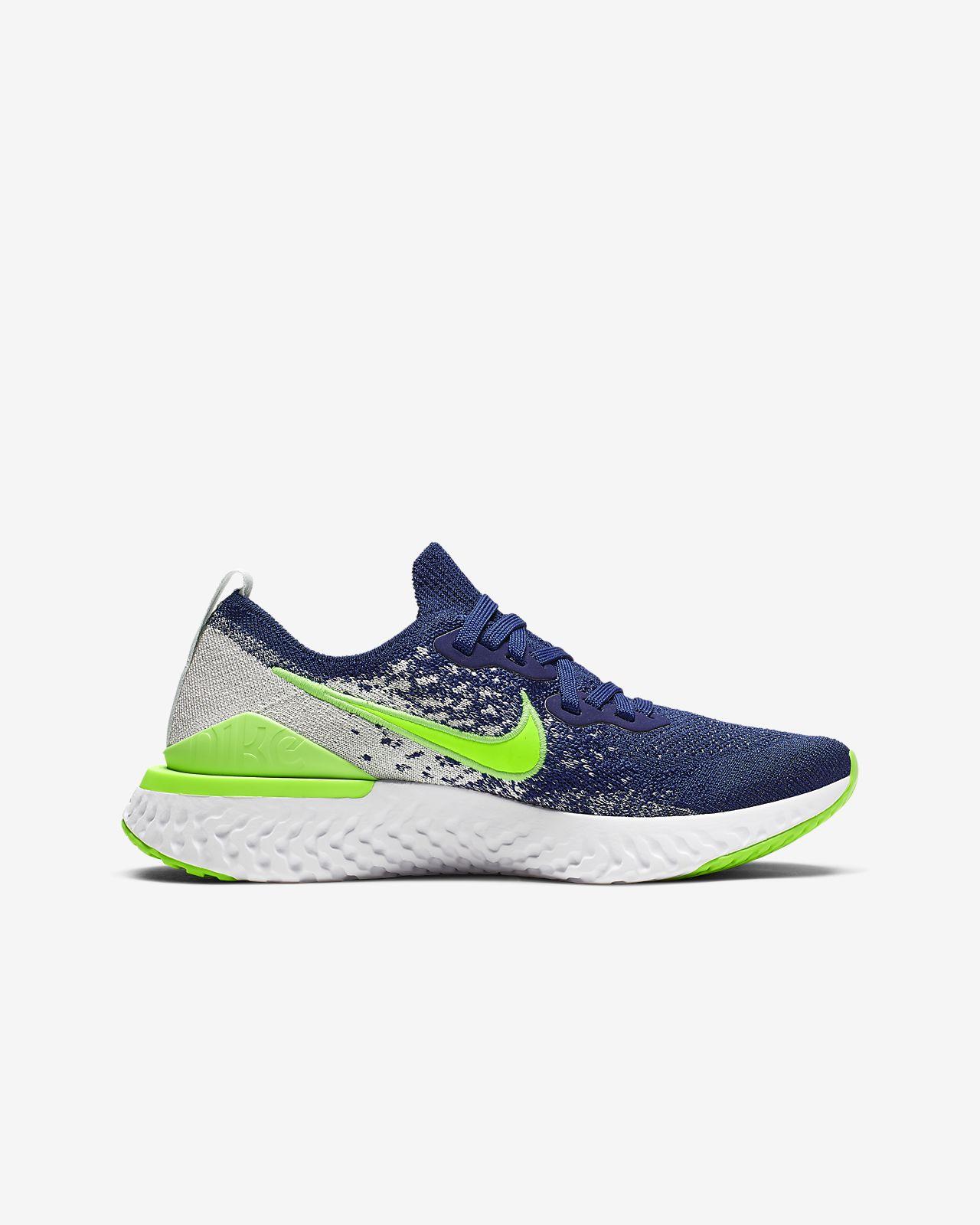 d7c5cc2cf8 Nike Epic React Flyknit 2 Big Kids' Running Shoe