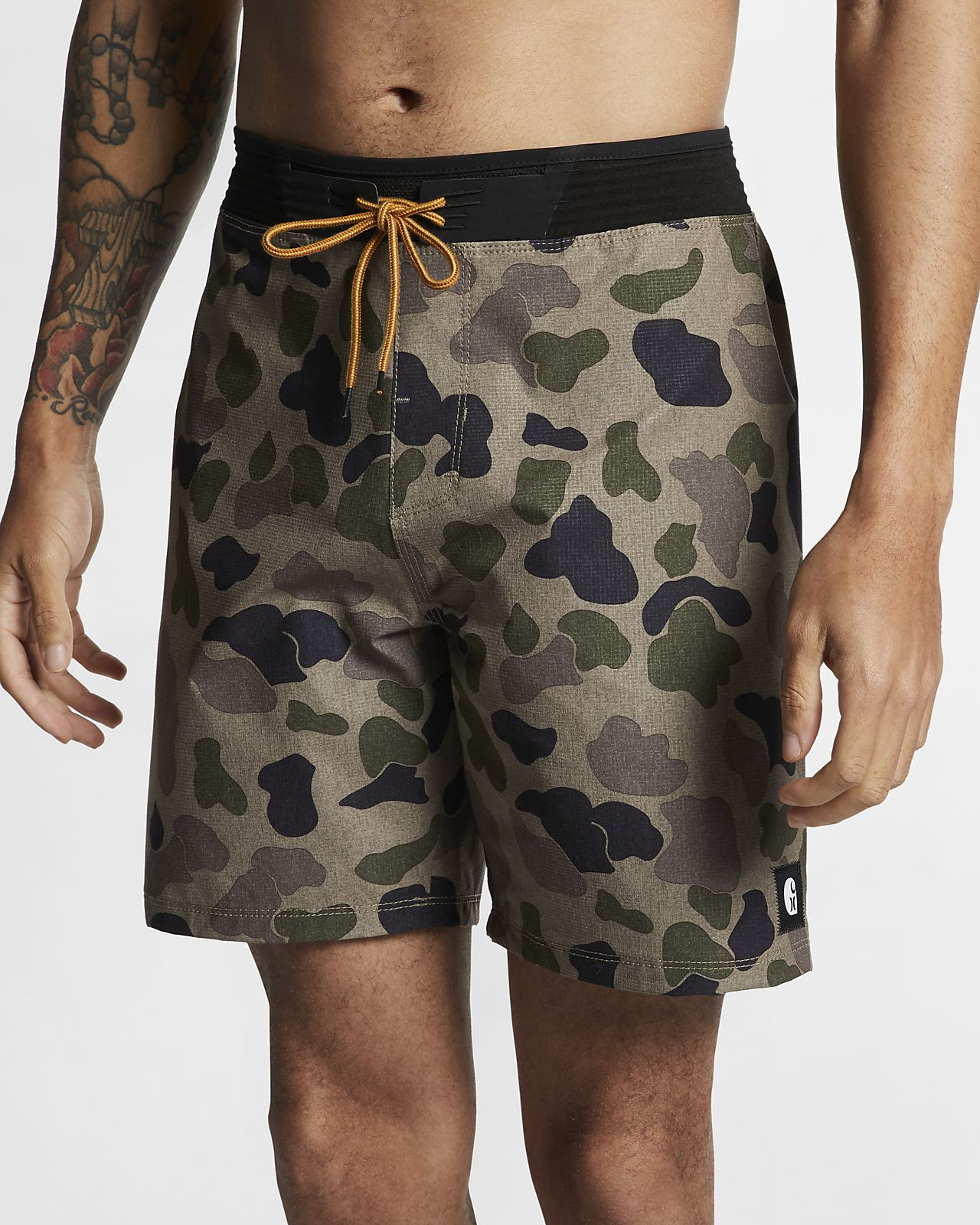 Shorts de playa de 46 cm para hombre Hurley x Carhartt Hyperweave