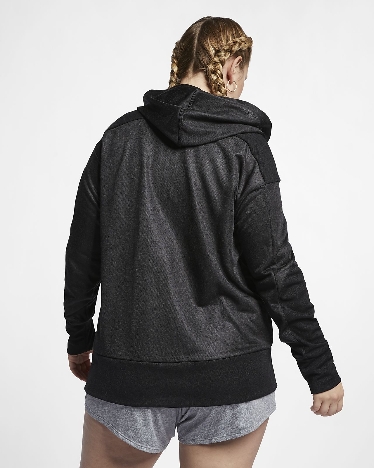 8eb8a77cde0 Nike Dri-FIT (Plus Size) Women s Full-Zip Training Hoodie. Nike.com AU