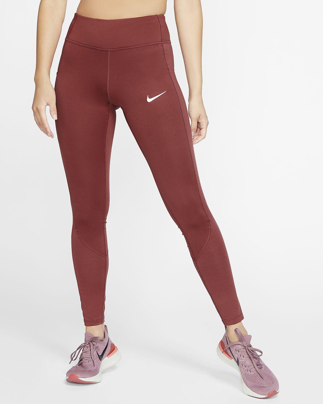Nike Racer varm løpetights til dame