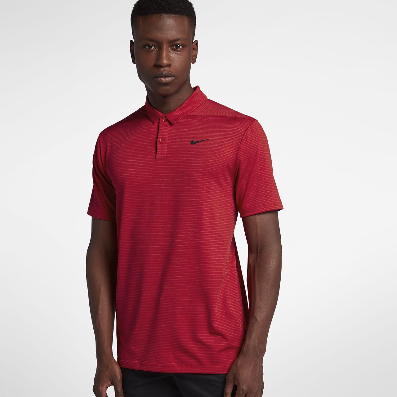 7dd8d4eb Nike Dri-FIT TW Men's Striped Golf Polo. Nike.com