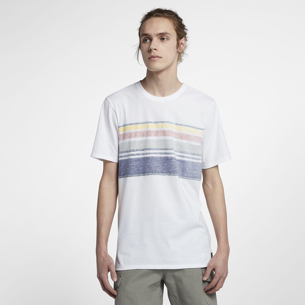 Package De Compte À Rebours En Ligne À Vendre Pas Cher Authentique Nike Tee-shirt Hurley Pendleton Glacier Striped pour Homme Nouvelle Arrivée Pas Cher En Ligne Livraison Gratuite Parfaite 2018 À Vendre tDcQ05Bo