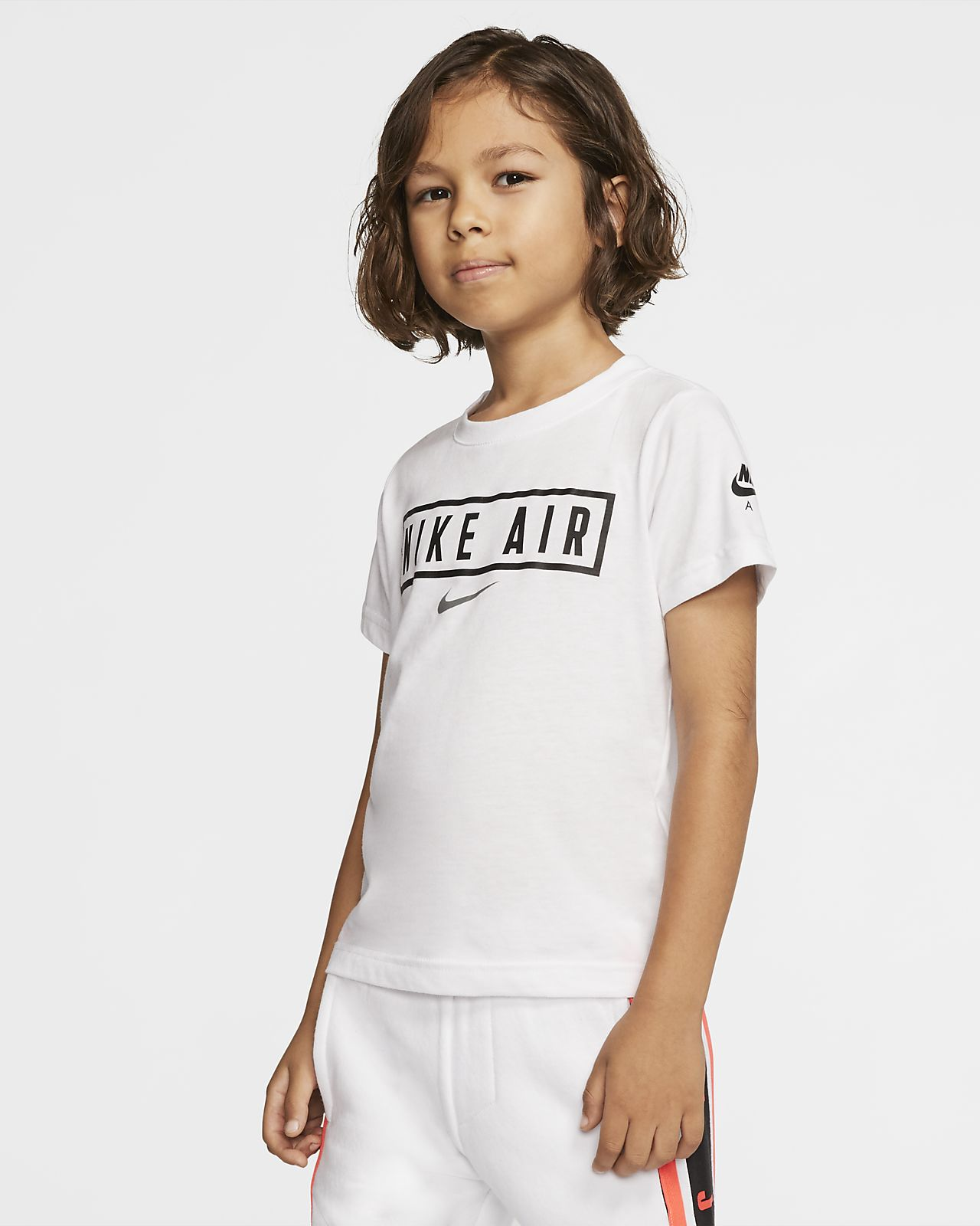 Κοντομάνικο T-Shirt Nike Air για μικρά παιδιά