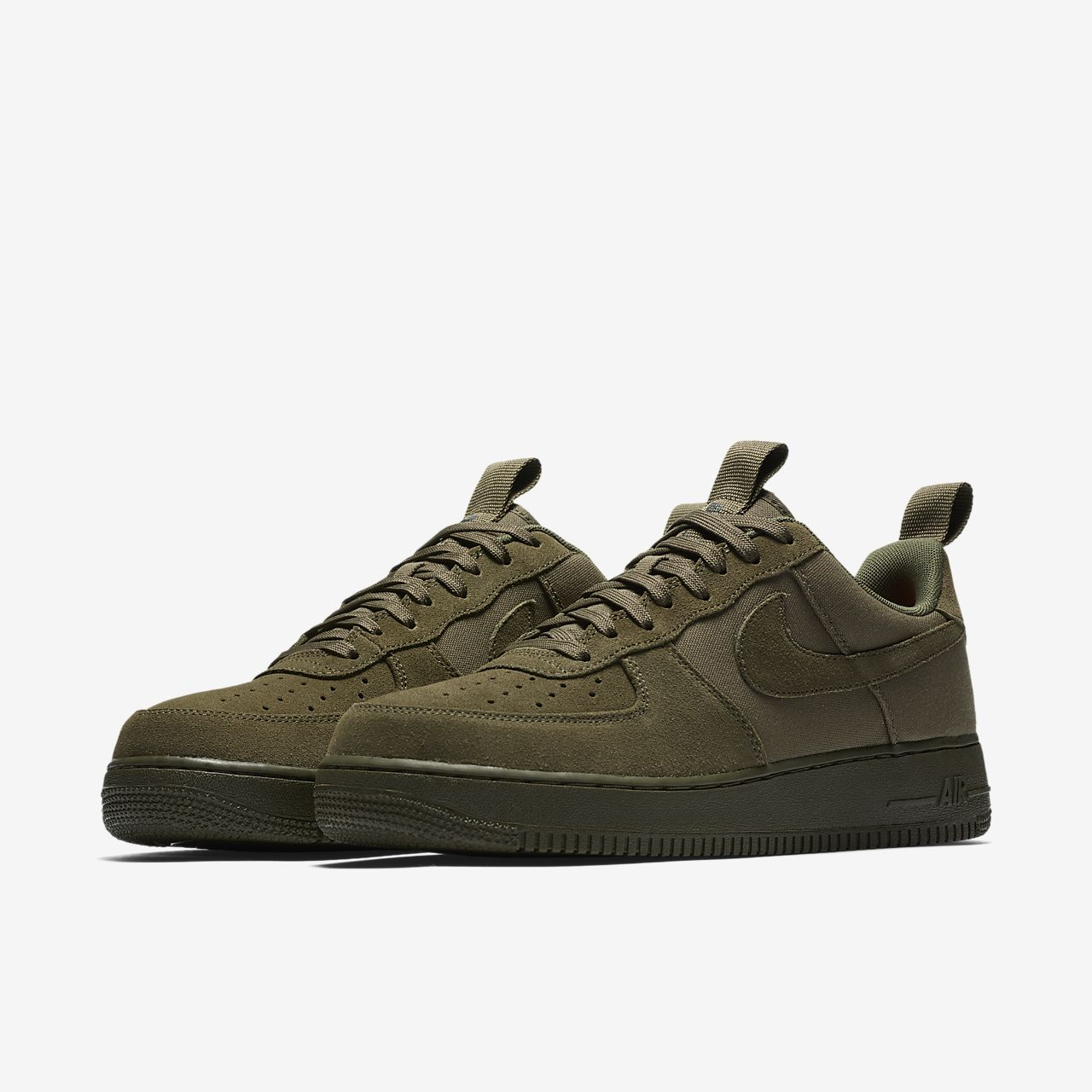 Lunar Force 1 Low Duckboot Lo Sneaker chaussures olive oliveNike zIWGg0LS