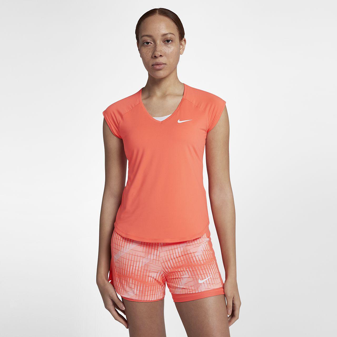 Women's NikeCourt Team Pure - Tennis Tank Top BQ222477k