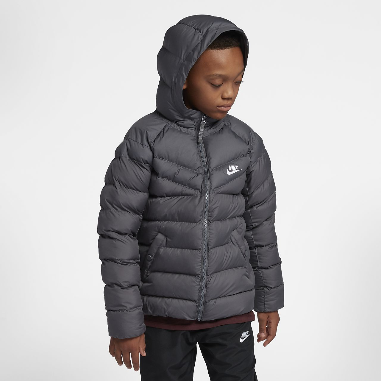 save off 652f0 3d7ba Nike Sportswear Older Kids  Synthetic-Fill Jacket. Nike.com GB