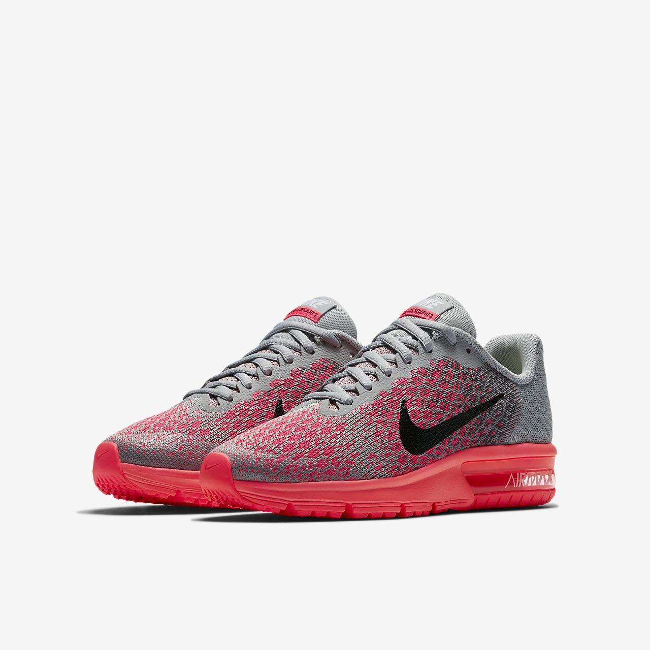 f9ca4a48327c Nike Air Max Sequent 2 Older Kids  Running Shoe. Nike.com GB