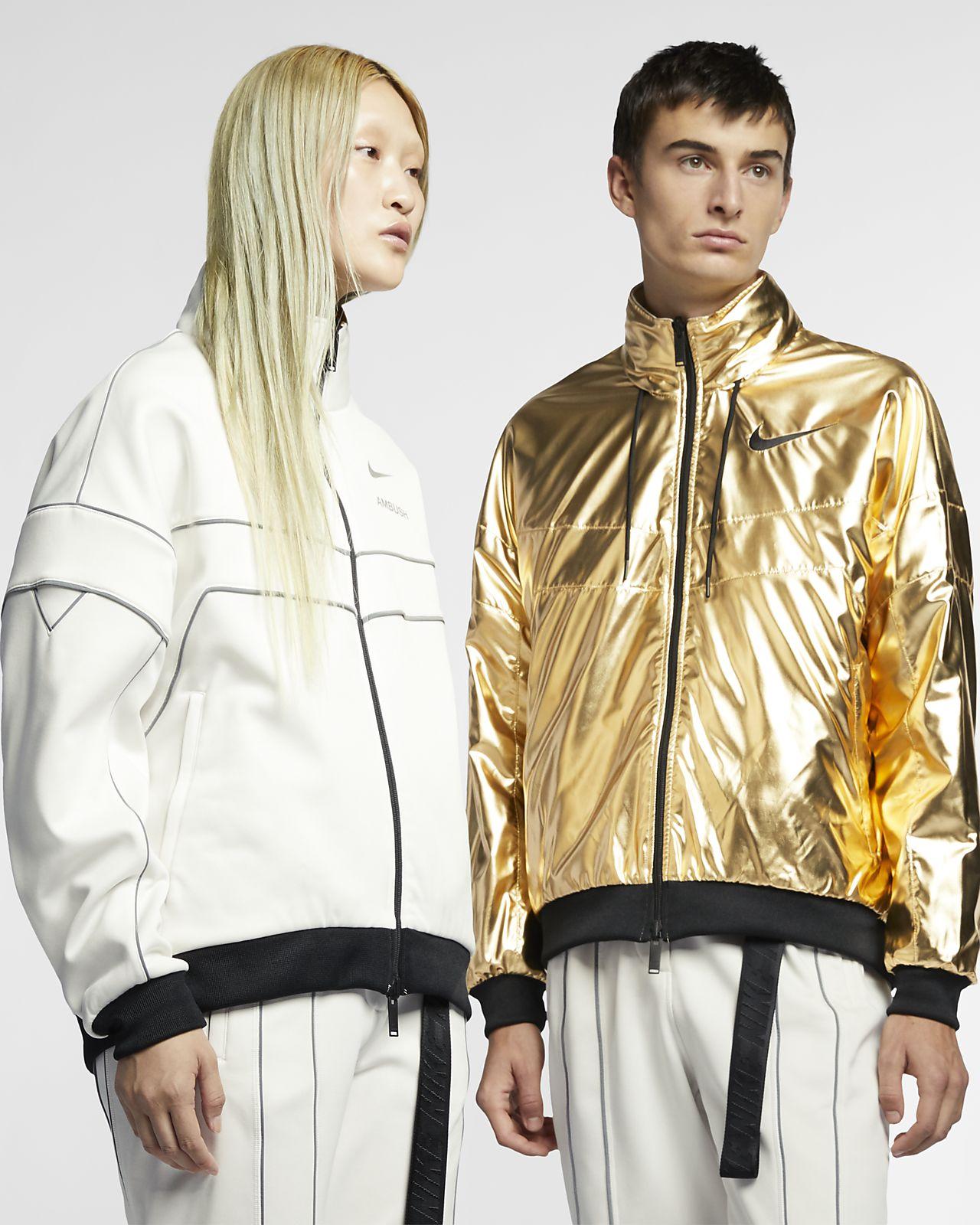 เสื้อแจ็คเก็ตผู้หญิงใส่ได้สองด้าน Nike x Ambush
