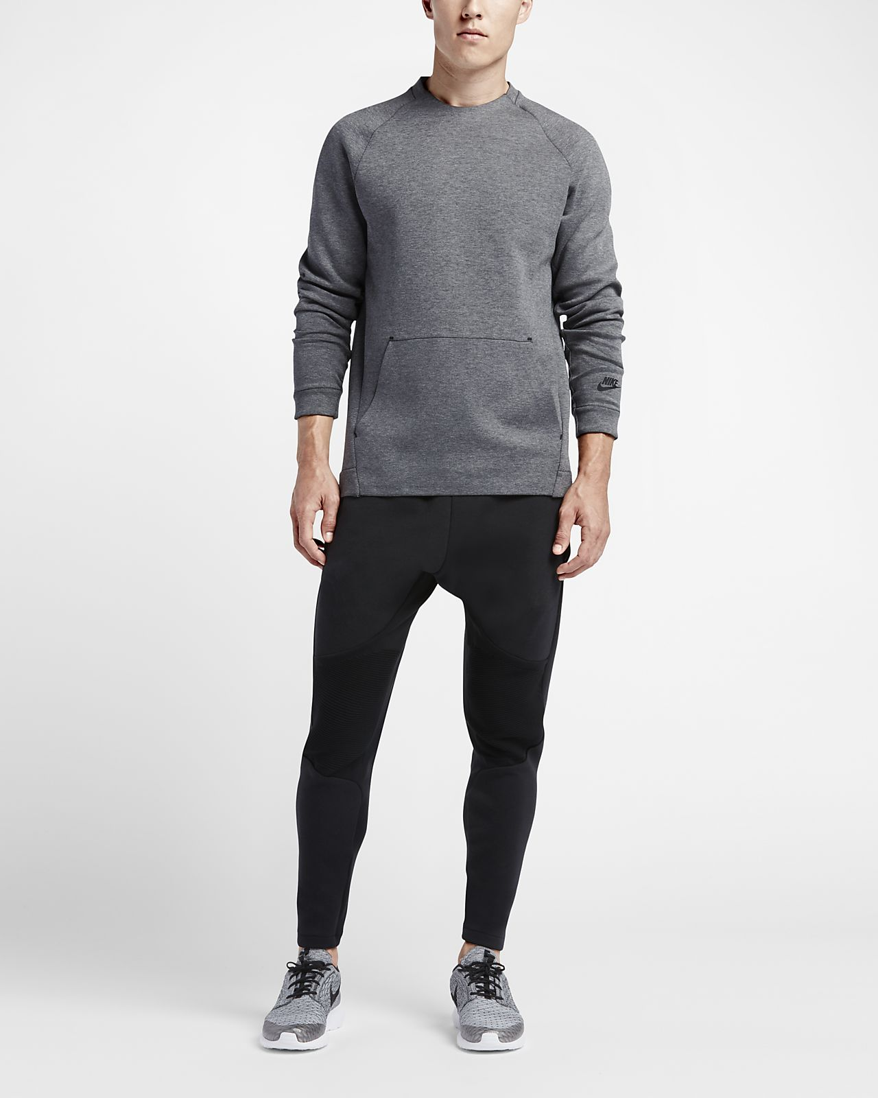 Homme Nike Crew Shirt Sweat Sportswear Tech Fleece Pour qSUzMVp