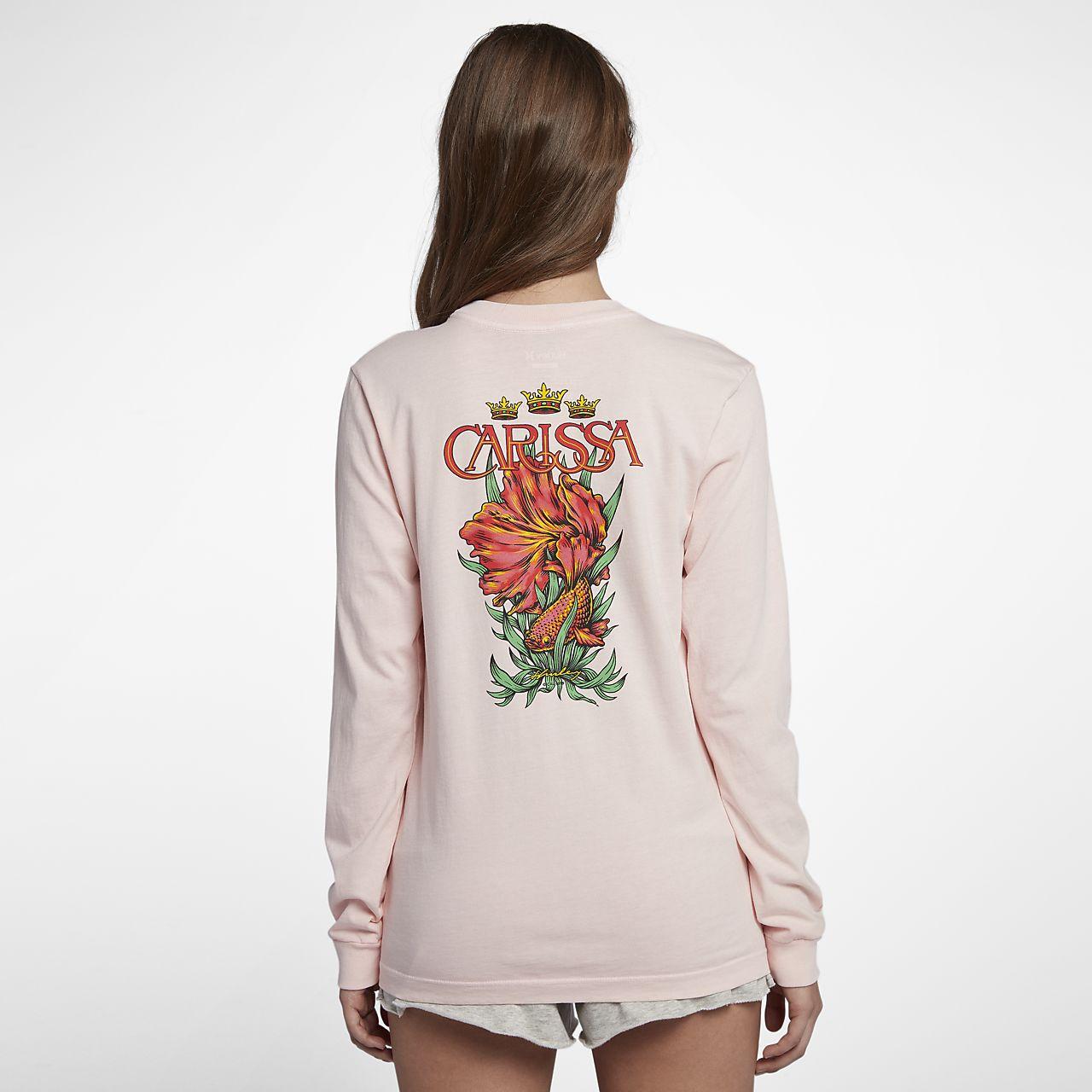 Långärmad t-shirt Hurley Team Moore för kvinnor