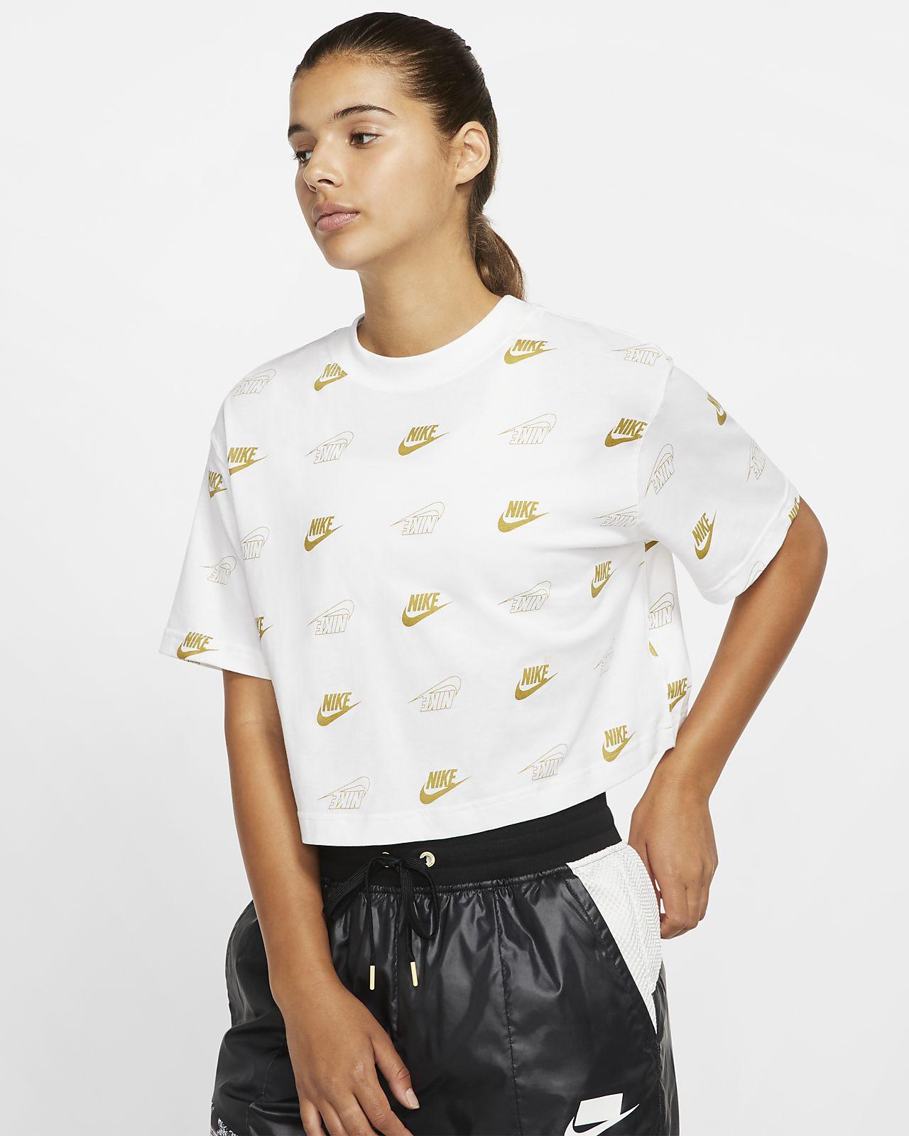 Haut court à manches courtes Nike Sportswear pour Femme