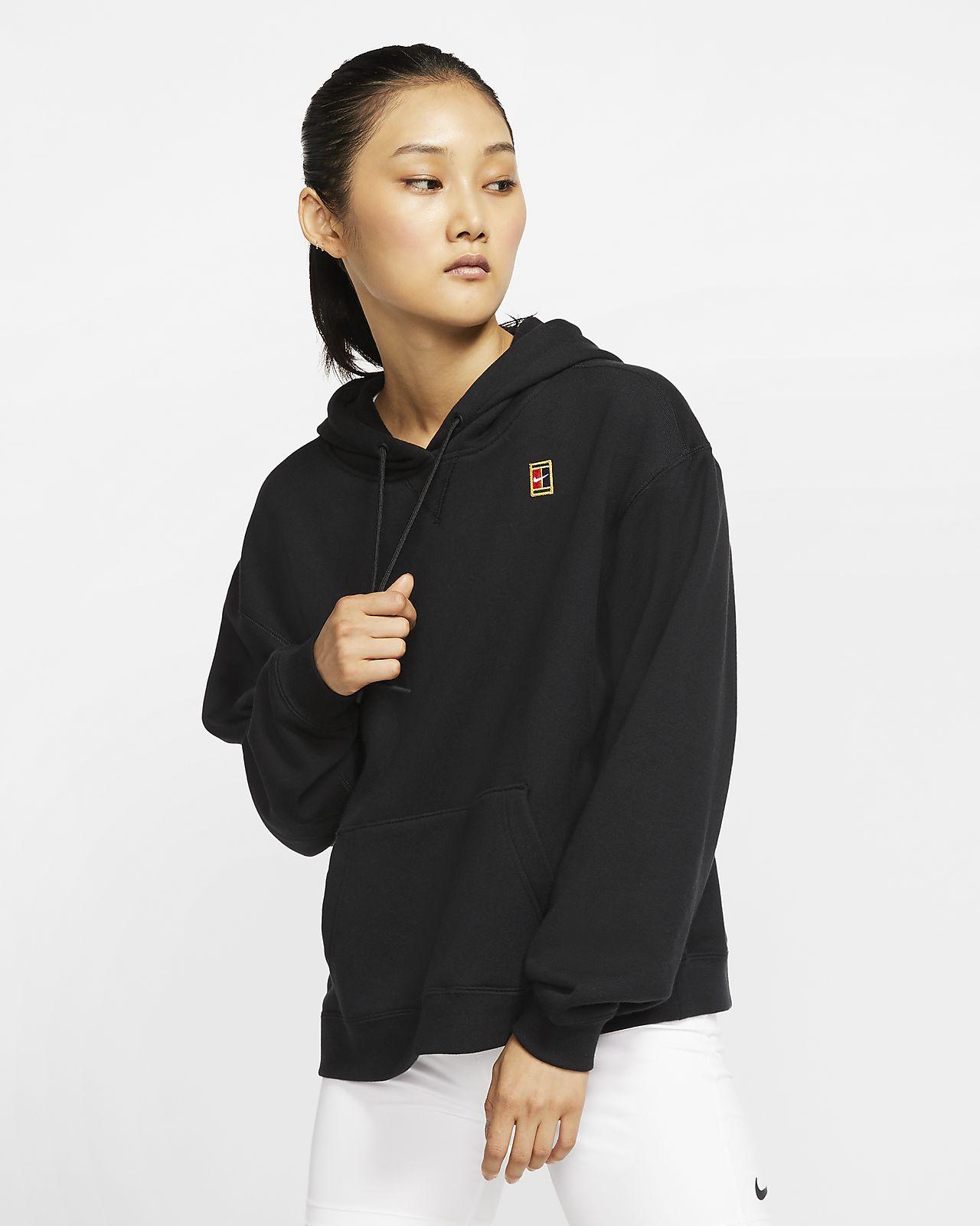 NikeCourt női kapucnis teniszpulóver