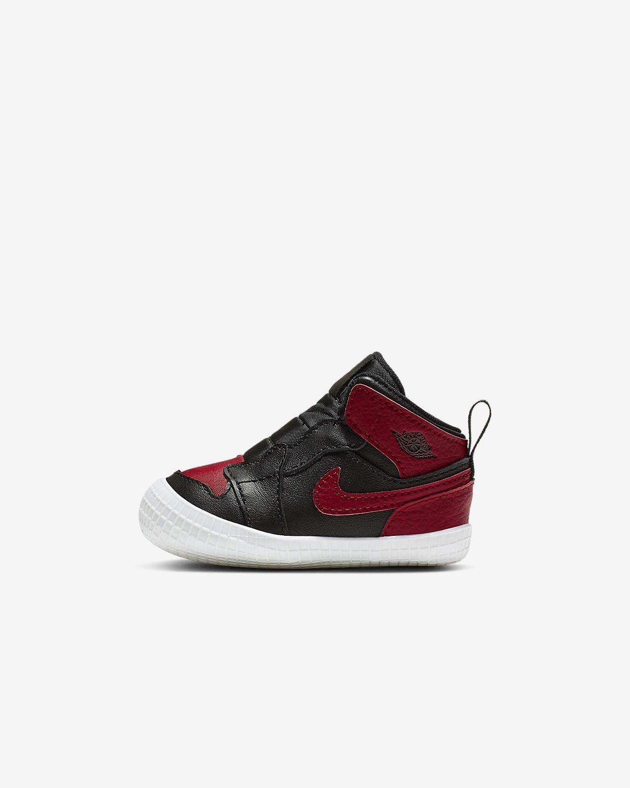 Jordan 1Crib Bootie Crib婴童童鞋