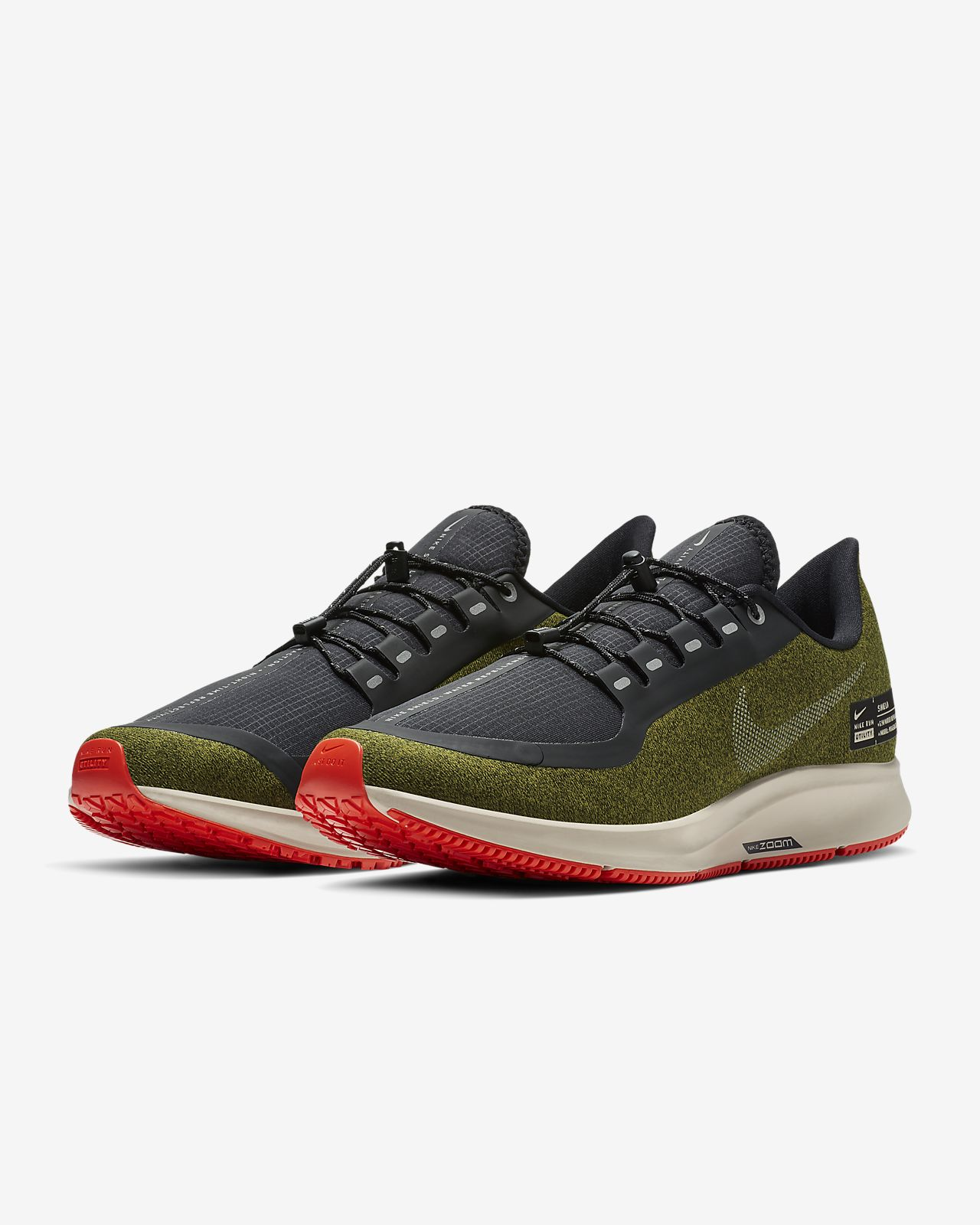 181931b7caf Nike Air Zoom Pegasus 35 Shield Water-Repellent Men s Running Shoe ...