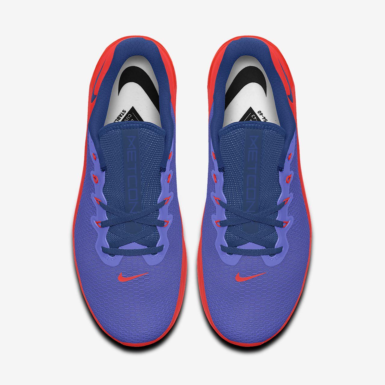 Scarpa da cross trainingsollevamento pesi personalizzabile Nike Metcon 5 By You