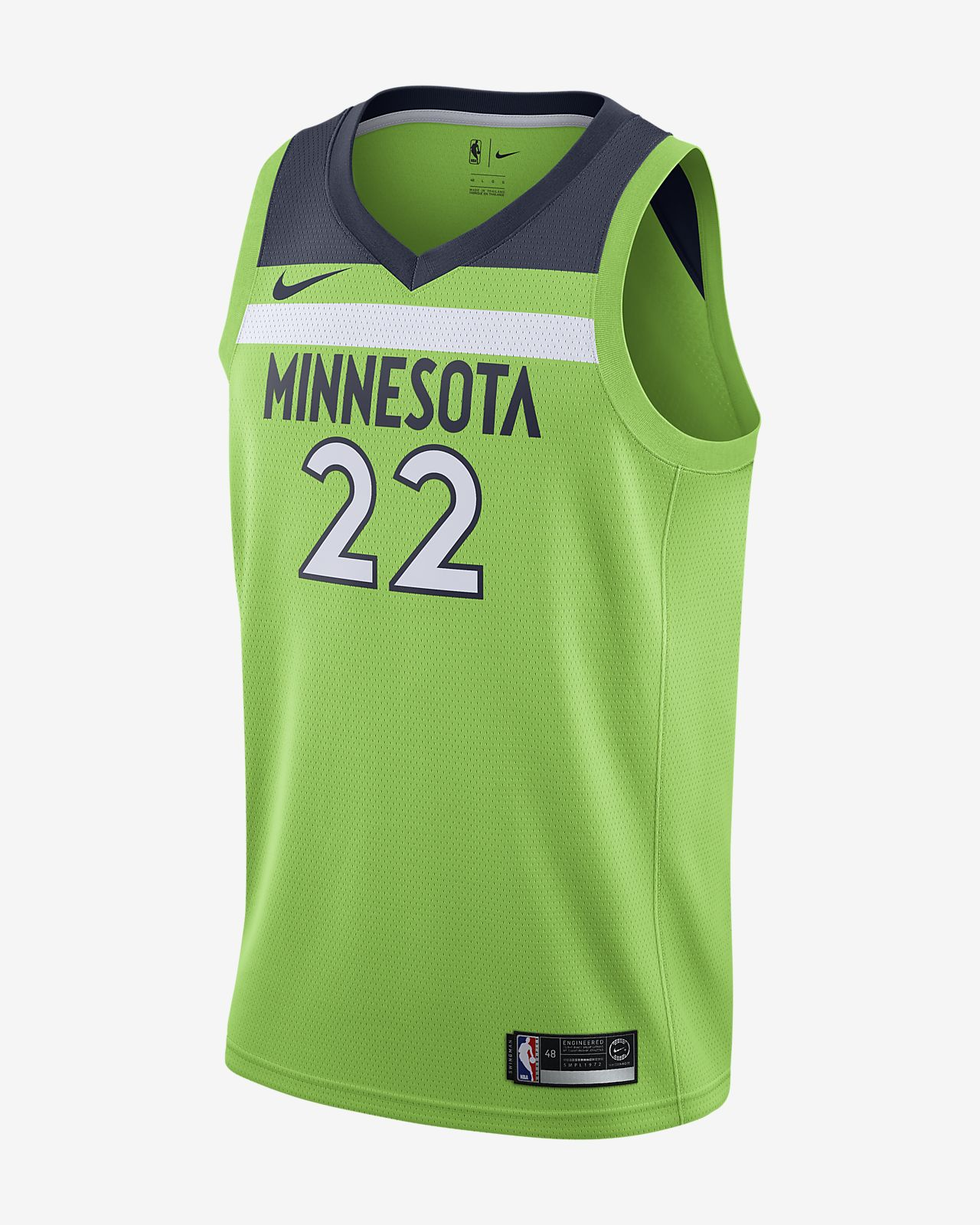 Maillot connecté Nike NBA Andrew Wiggins Statement Edition Swingman (Minnesota Timberwolves) pour Homme