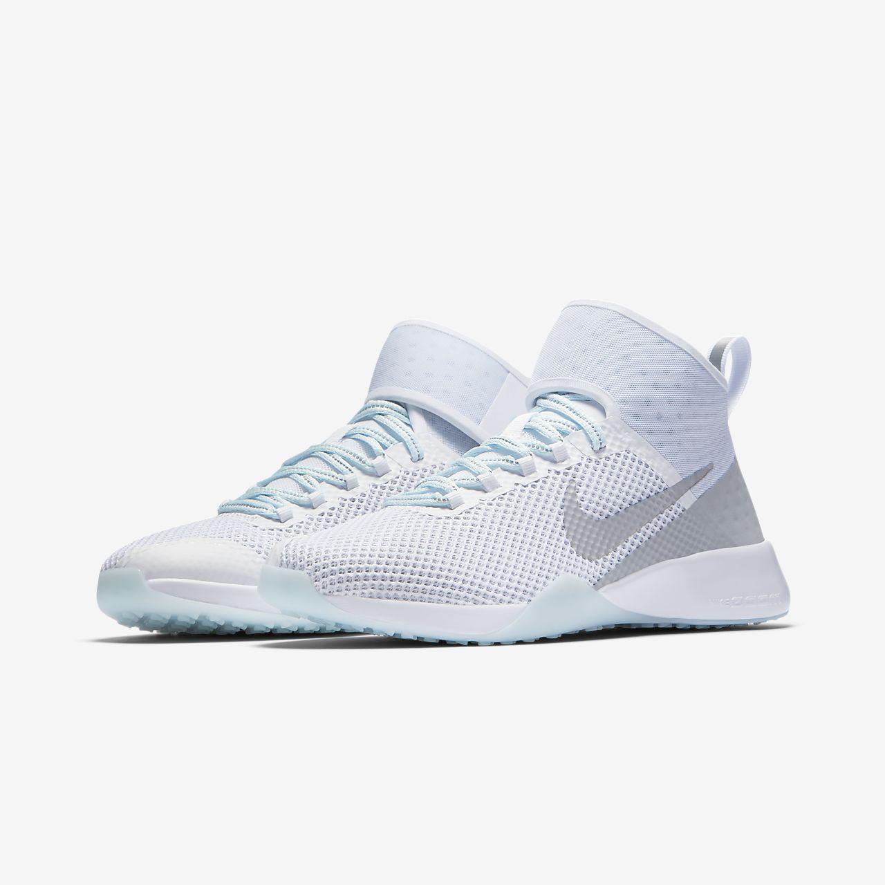 Nike Air Zoom Strong 2 Metallic Women's Training Shoes Black/Blue xE1228N