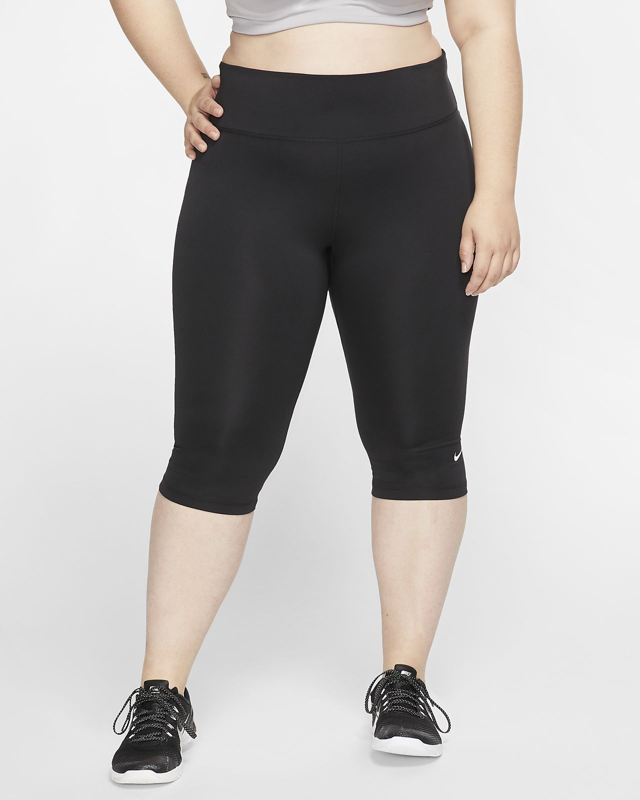 Trekvartsbyxor Nike One för kvinnor (Plus Size)