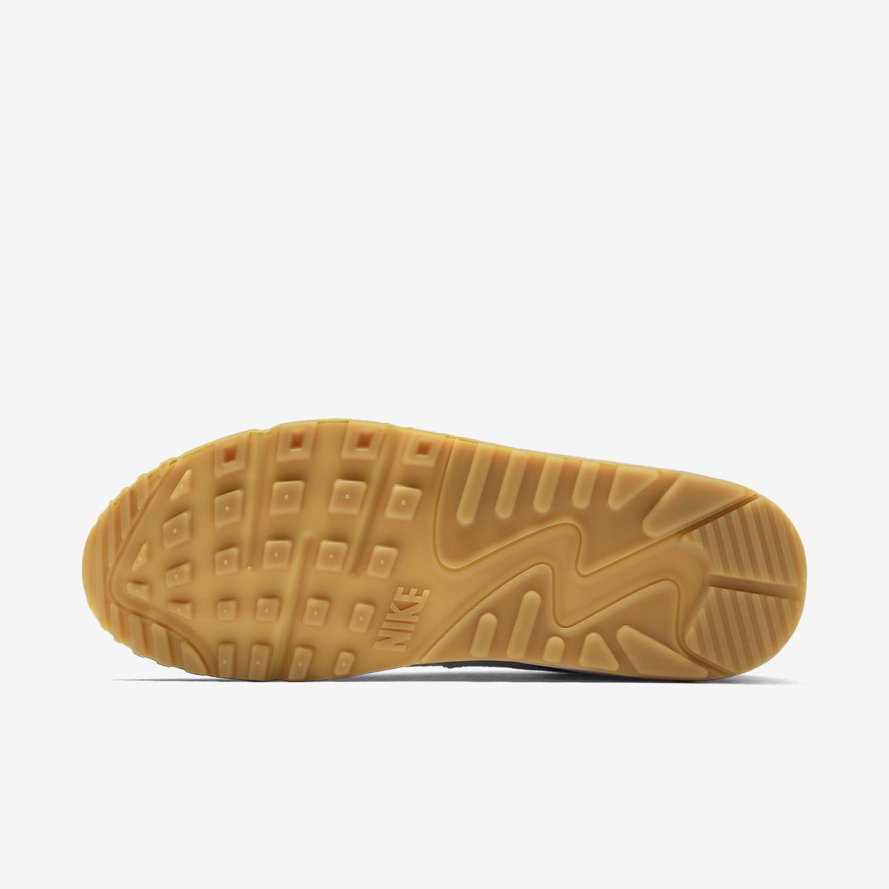 scarpa nike air max 90 biancogum light brownbianco 325213 135