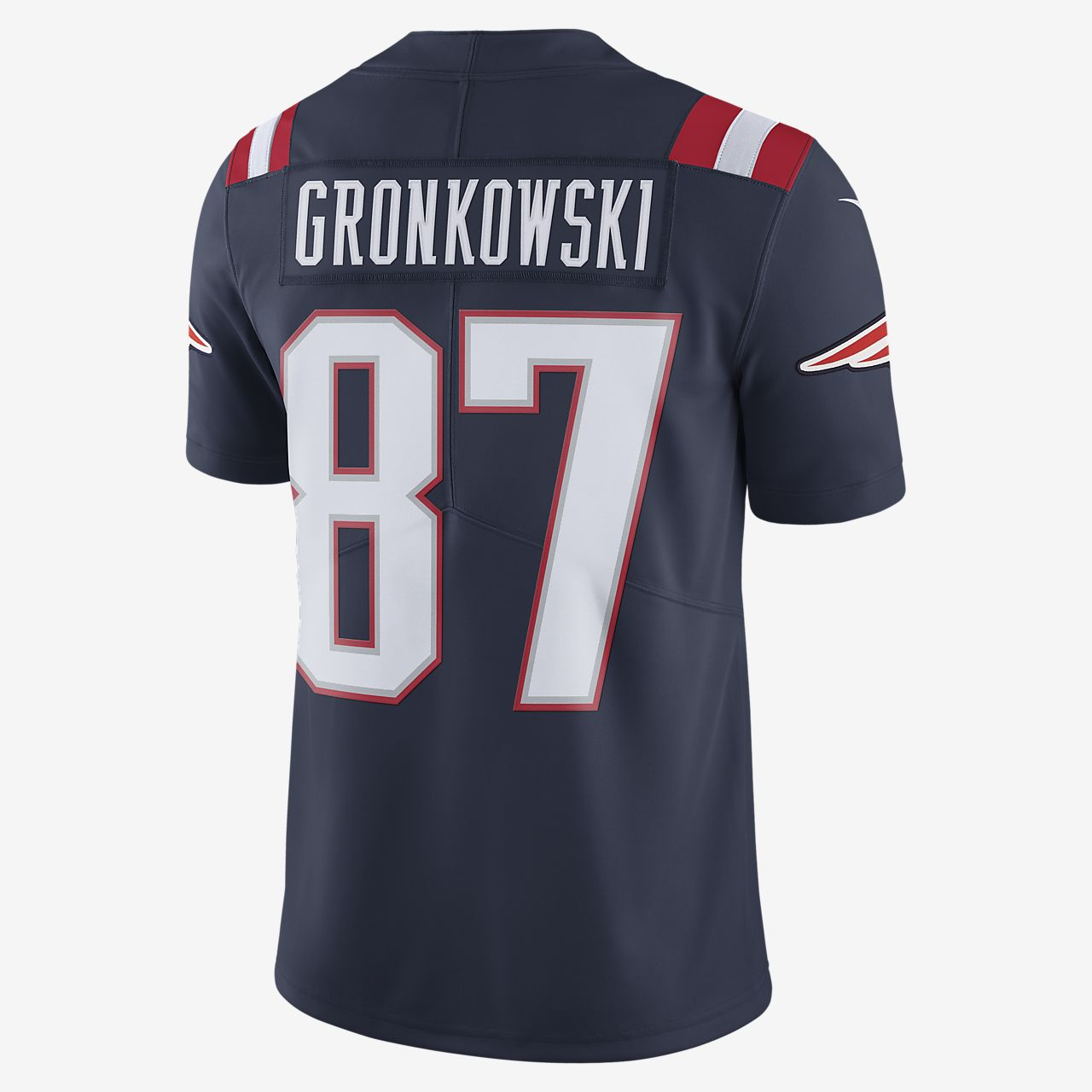 a6ce3dfeb ... NFL New England Patriots Color Rush Limited (Rob Gronkowski) Men s  Football Jersey